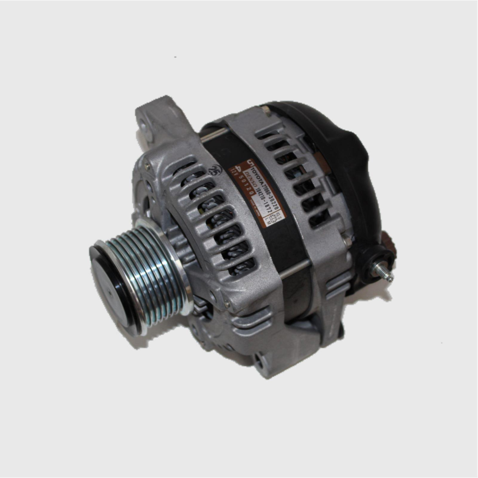 TOYOTA HIACE, Alternator, DIESEL, 3.0, 1KD-FTV, TURBO, KDH, 09/06-