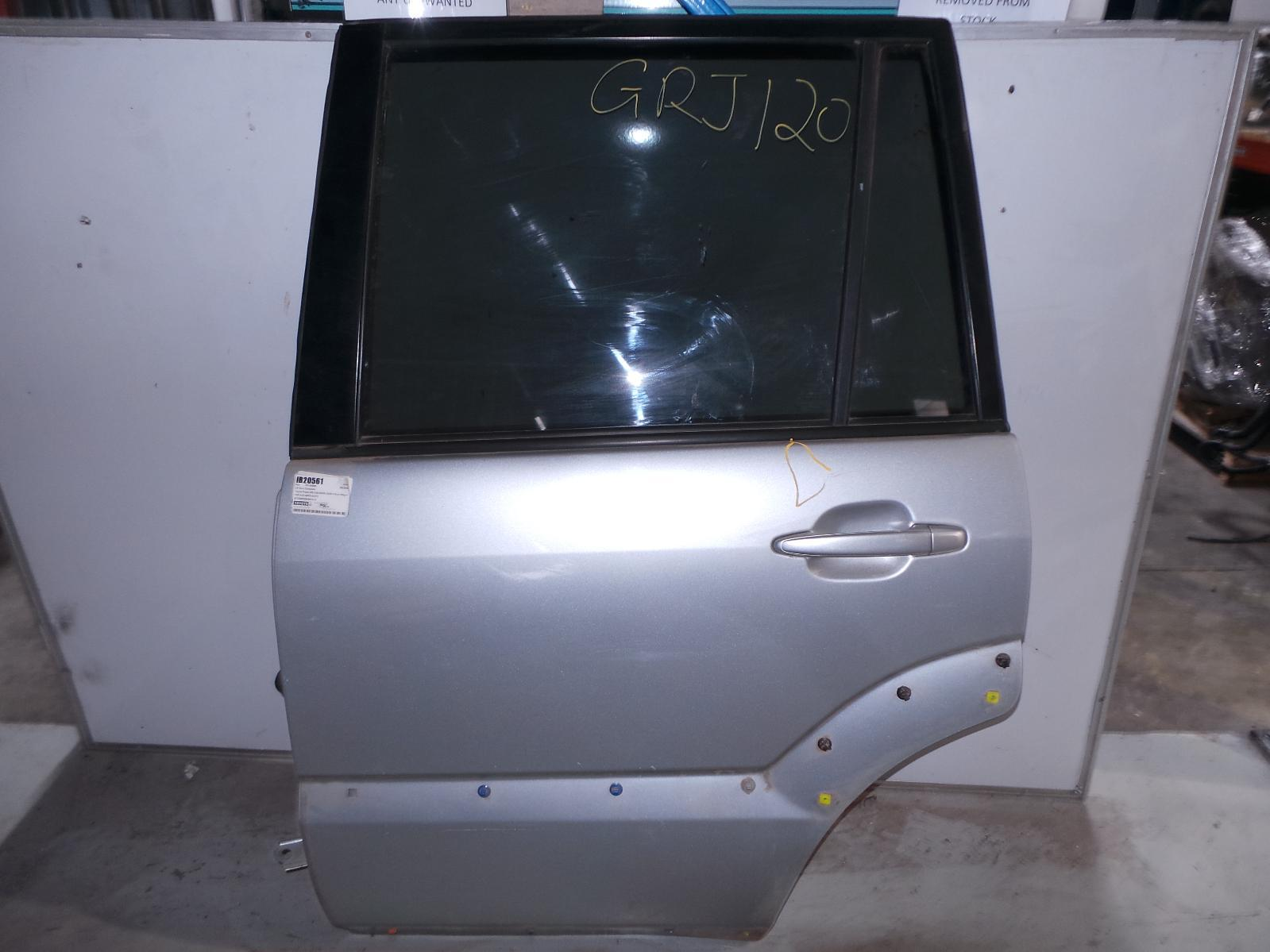 TOYOTA PRADO, Left Rear Door/Sliding, 120 SERIES, FLARED TYPE, 02/03-10/09