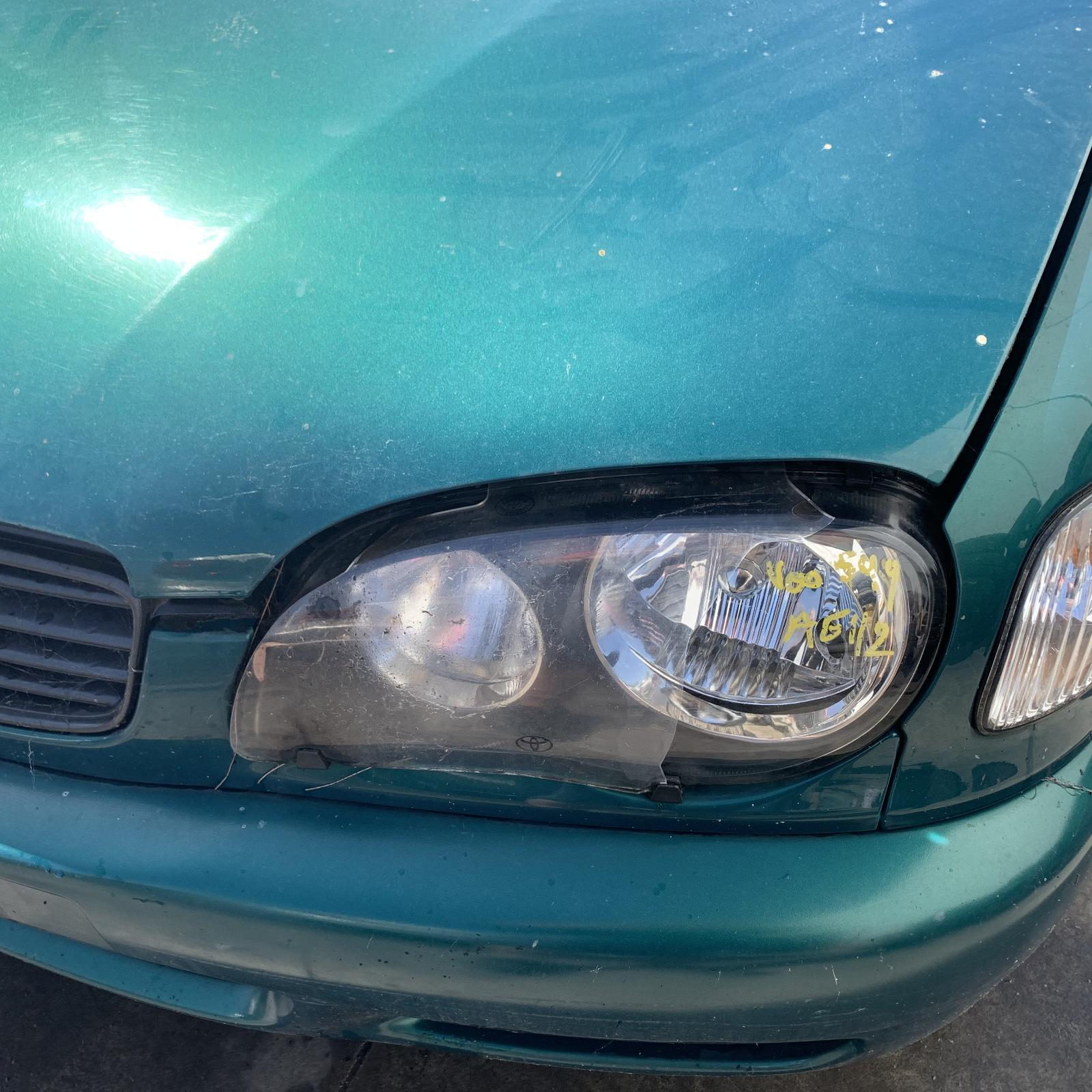 TOYOTA COROLLA, Left Headlamp, AE112, SEDAN/SECA, 10/99-11/01