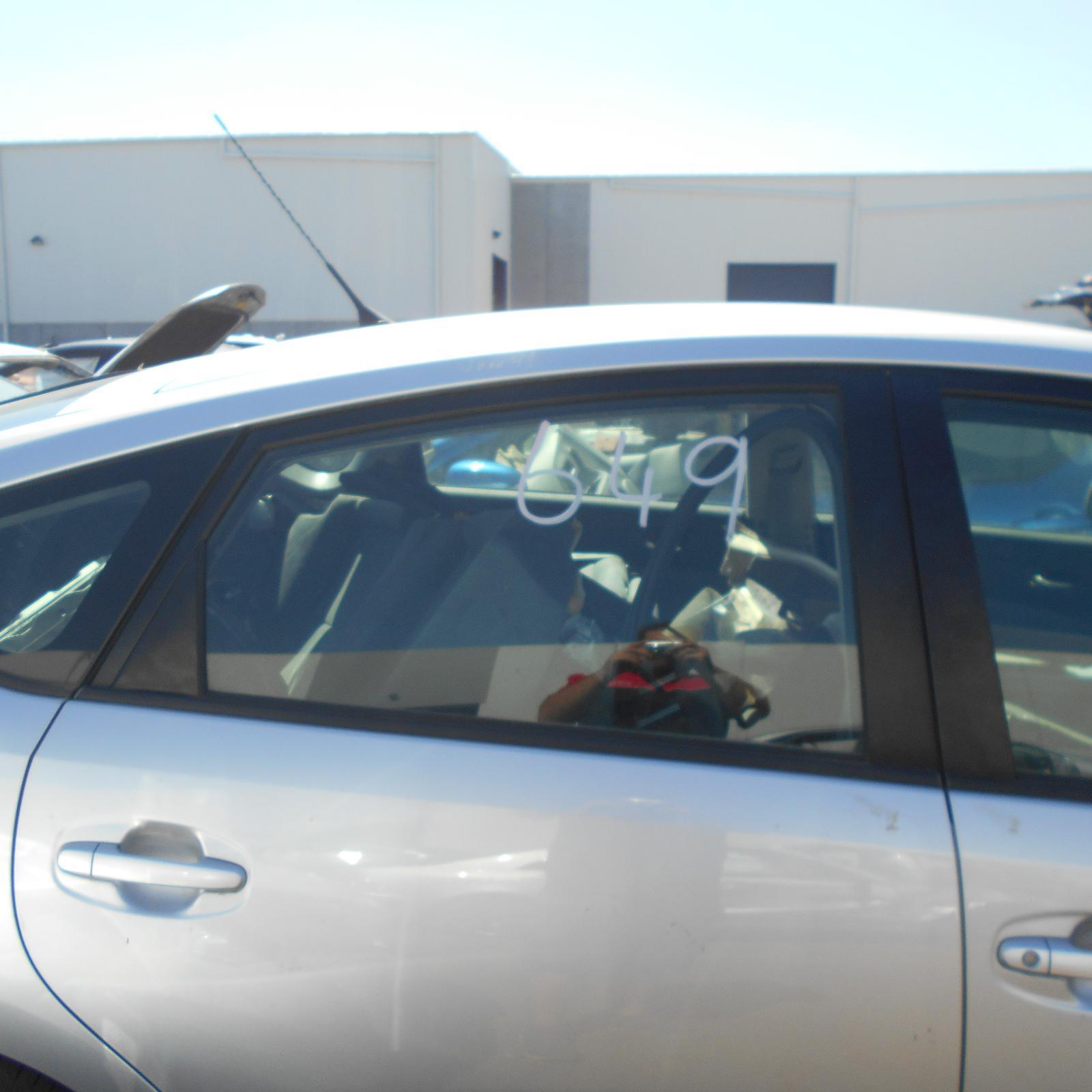 TOYOTA PRIUS, Right Rear Door Window, NHW20R, POWER, 10/03-05/09