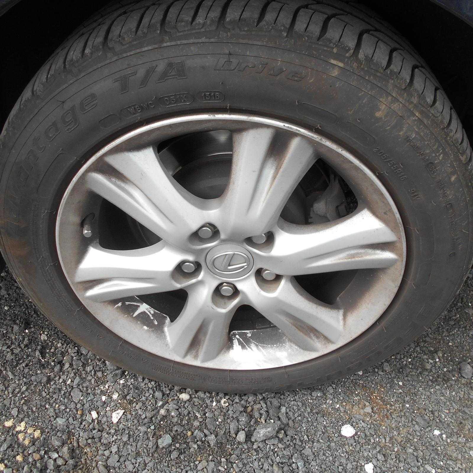LEXUS IS250/IS250C, Wheel Mag, IS250, FACTORY, FRONT/REAR, 16X7IN, GSE20R, 11/05-09/10