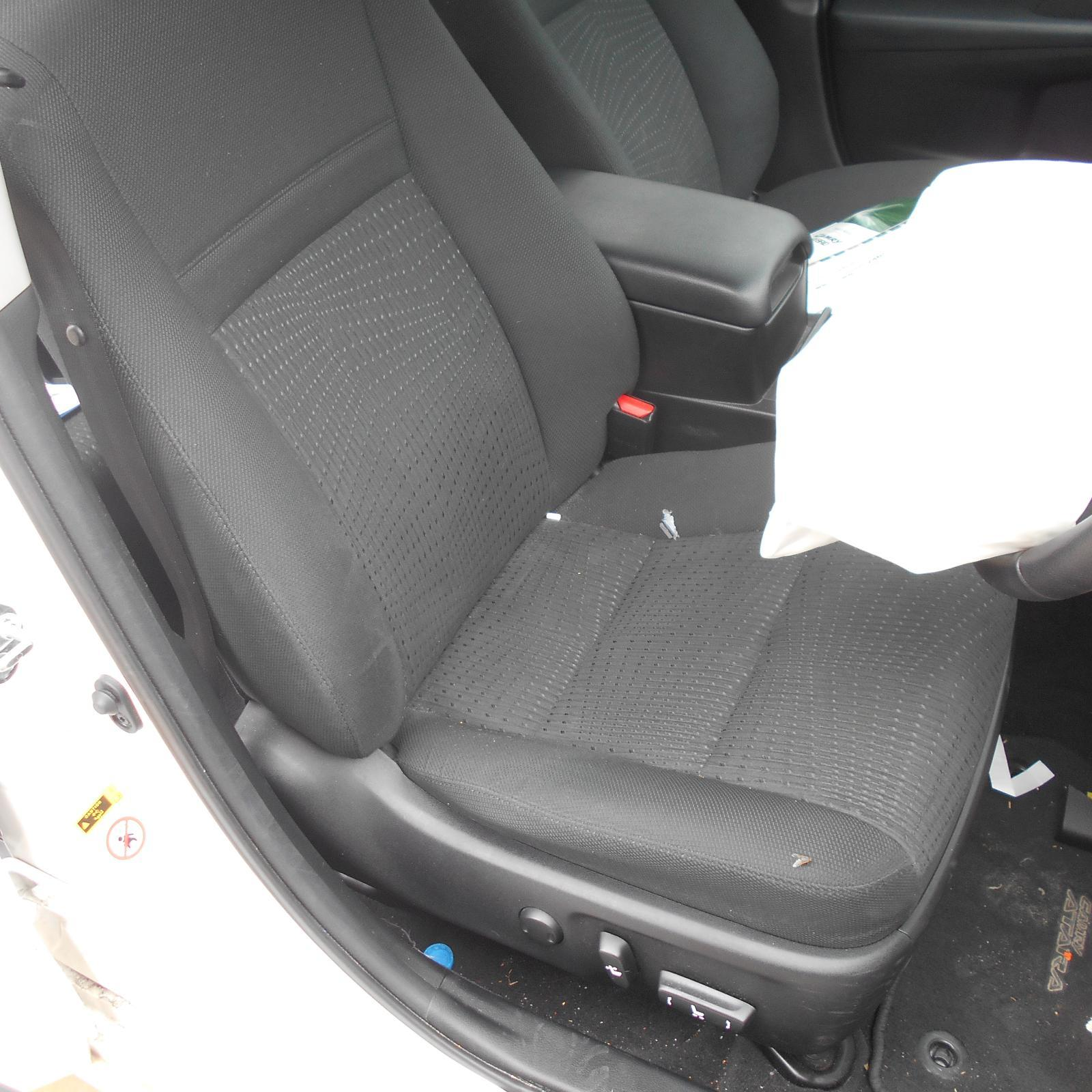TOYOTA CAMRY, Front Seat, RH FRONT, CLOTH, ATARA S, ACV50, 12/11-10/17