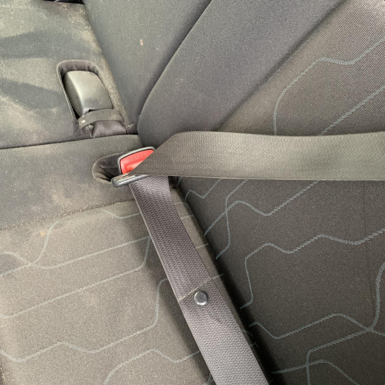 TOYOTA COROLLA, Seatbelt/Stalk, LH REAR, SEAT BELT ONLY, ZRE152R, HATCH, 03/07-09/12