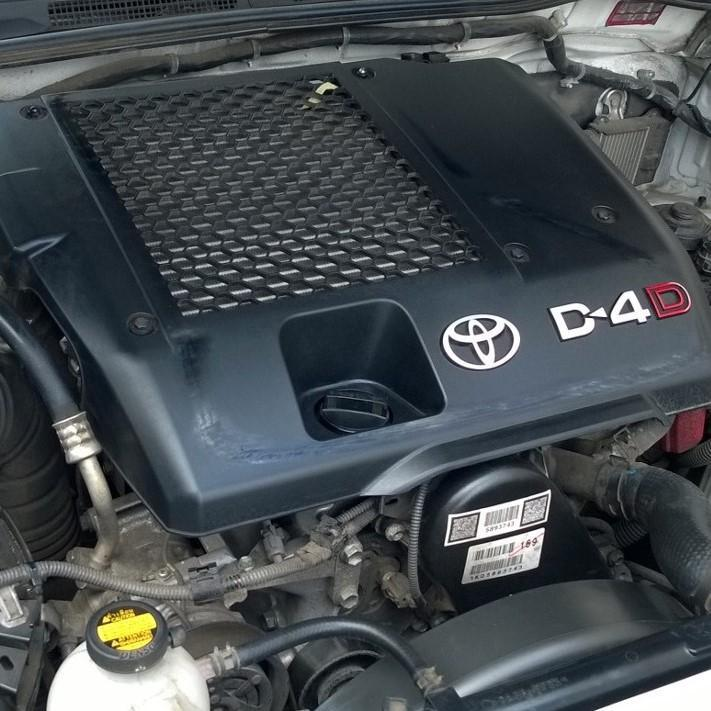 TOYOTA HILUX, Engine, DIESEL, 3.0, 1KD-FTV, TURBO, WATERCOOLED EGR TYPE, 08/11-08/15