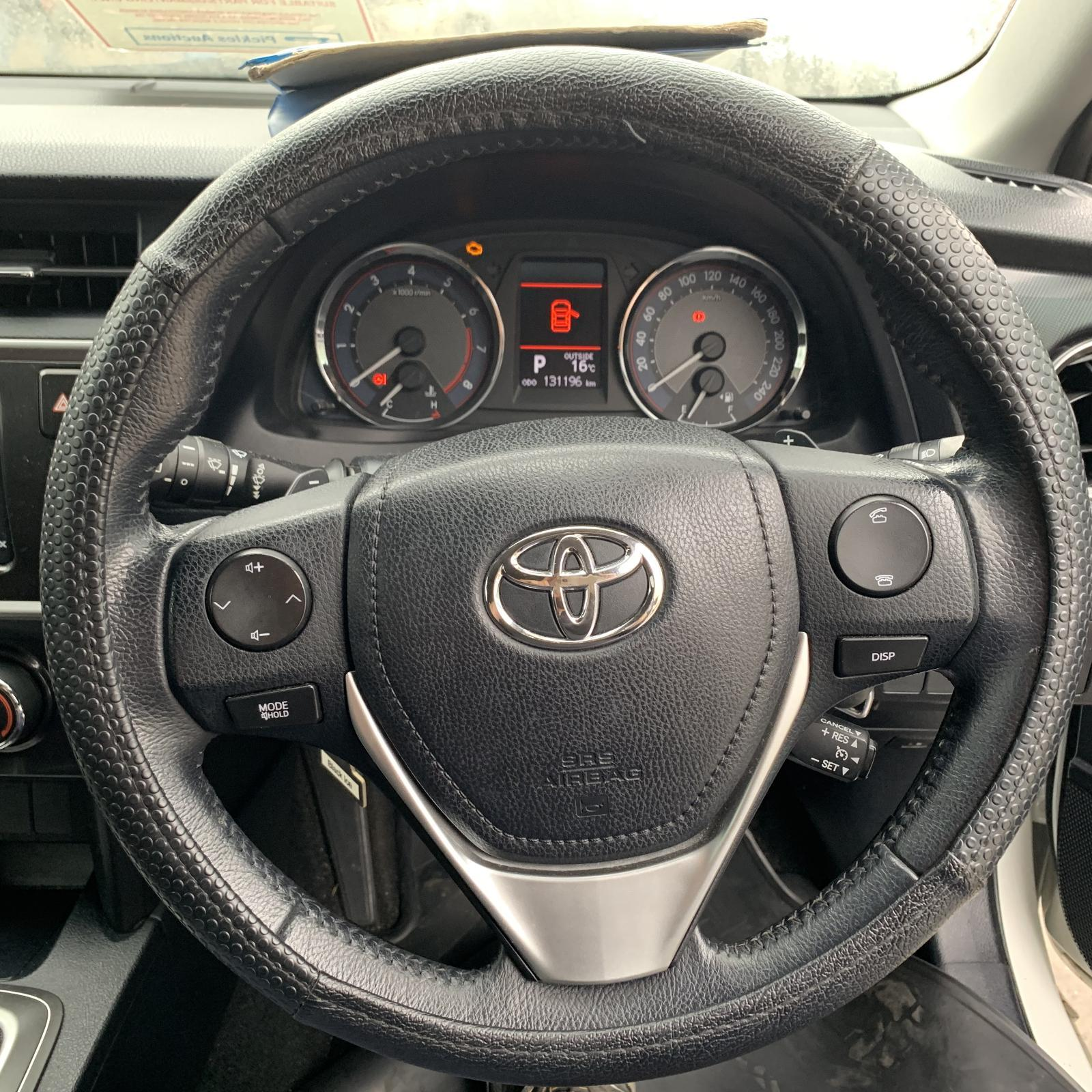 TOYOTA COROLLA, Steering Wheel, LEATHER, ZRE182R, 10/12-