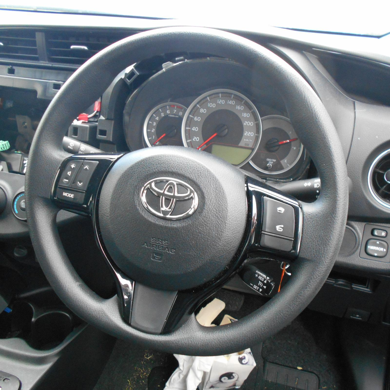 TOYOTA YARIS, Steering Wheel, VINYL, NCP13#, BLACK, 11/11-