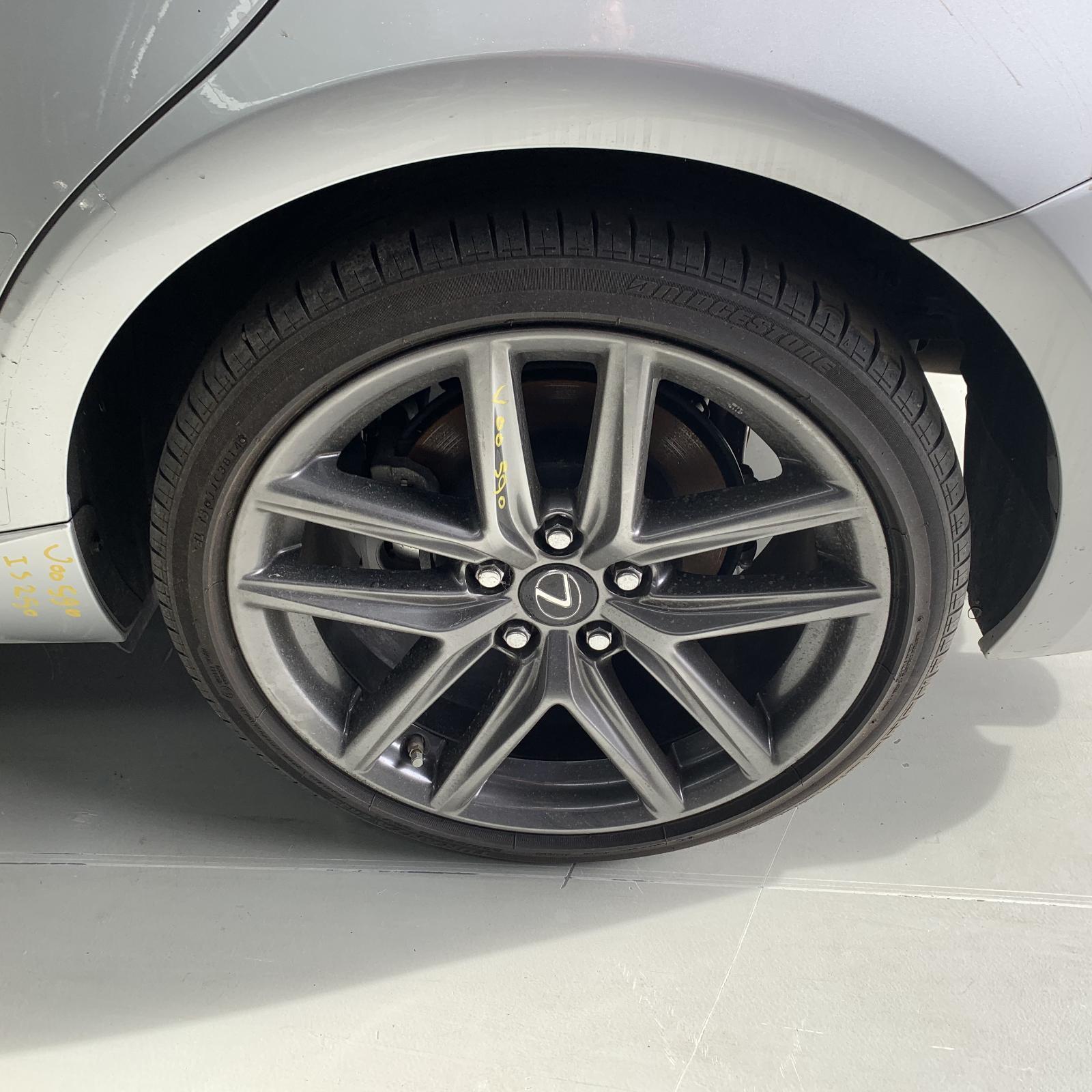 LEXUS IS, Wheel Mag, IS200t/IS250/IS300H/IS350, FACTORY, 18X8.5IN-REAR, XE30, SPORTS LUXURY/F SPORT, 04/13-