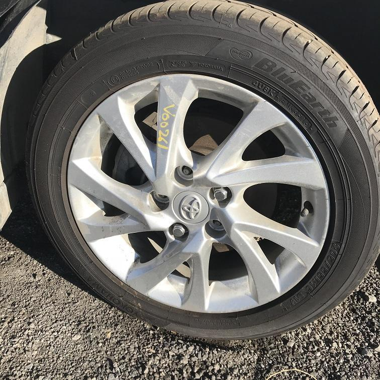TOYOTA COROLLA, Wheel Mag, FACTORY, 16X6.5IN, ZRE182R/ZWE186R, HATCH, 03/15-