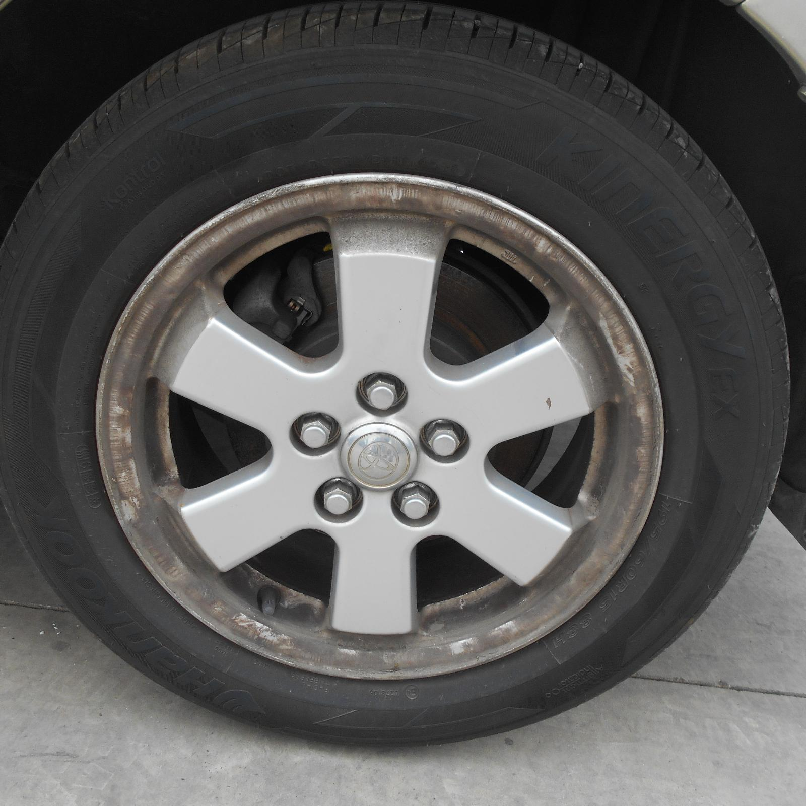 TOYOTA PRIUS, Wheel Mag, FACTORY, 15X6IN, NHW20R, 10/03-05/09