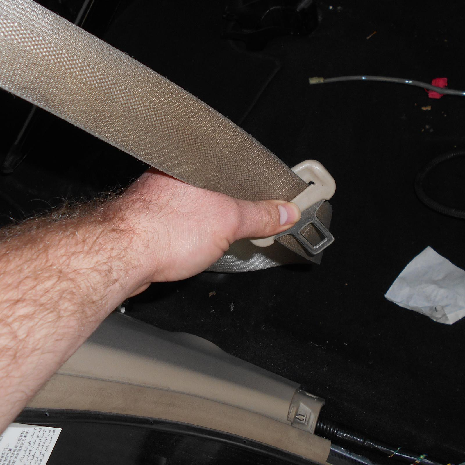 TOYOTA CAMRY, Seatbelt/Stalk, RH FRONT, SEAT BELT STALK ONLY, ASV50/AVV50, 12/11-10/17