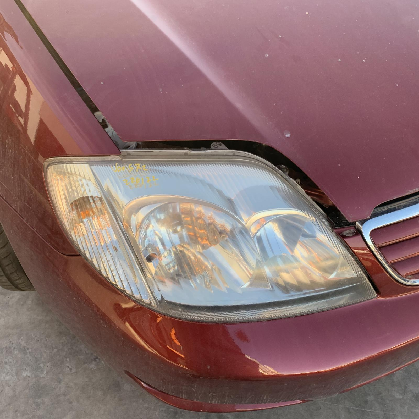 TOYOTA COROLLA, Right Headlamp, ZZE122 (JAPAN-VIN JTD), SEDAN/WAGON, 04/04-06/07