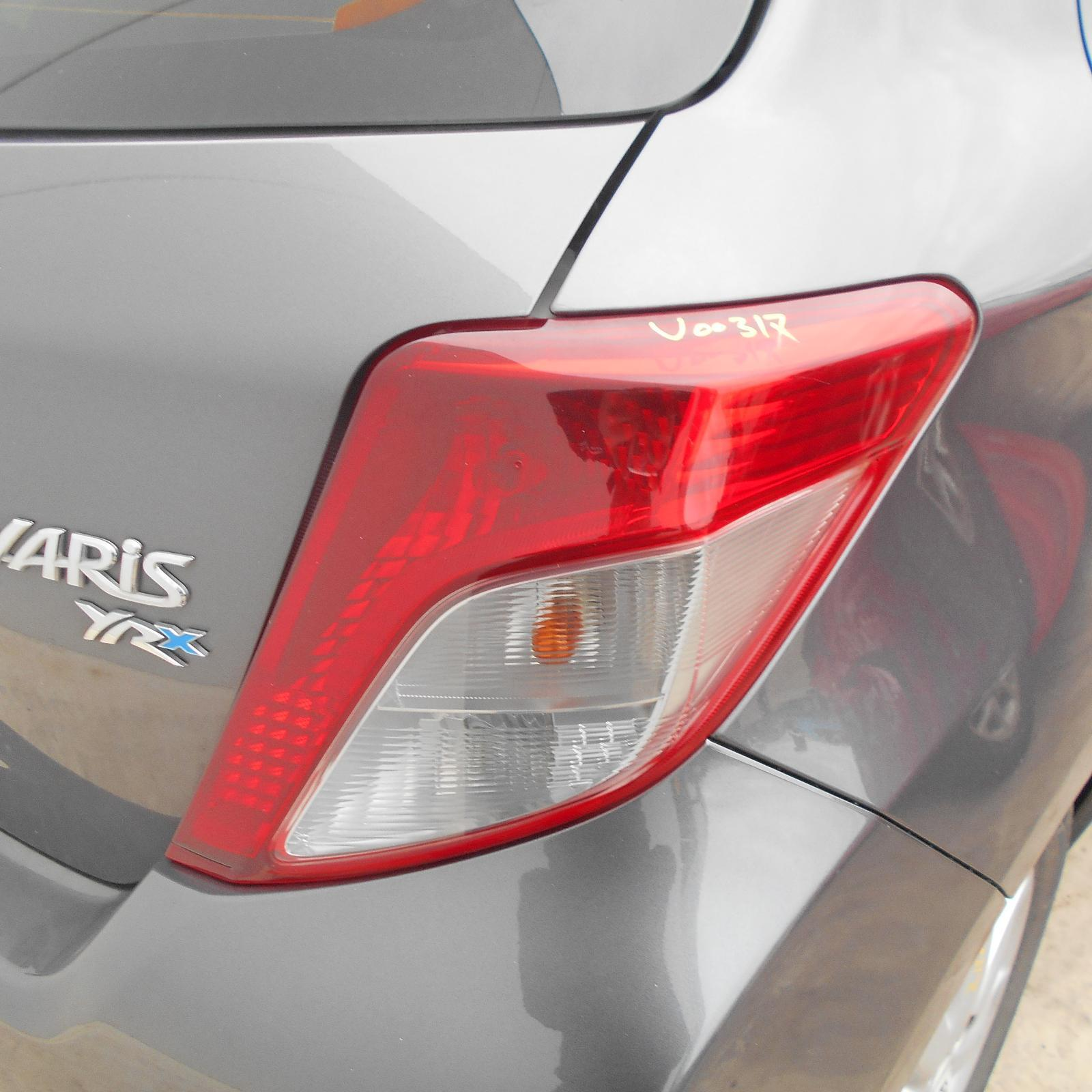 TOYOTA YARIS, Right Taillight, NCP13#, HATCH, 11/11-06/14