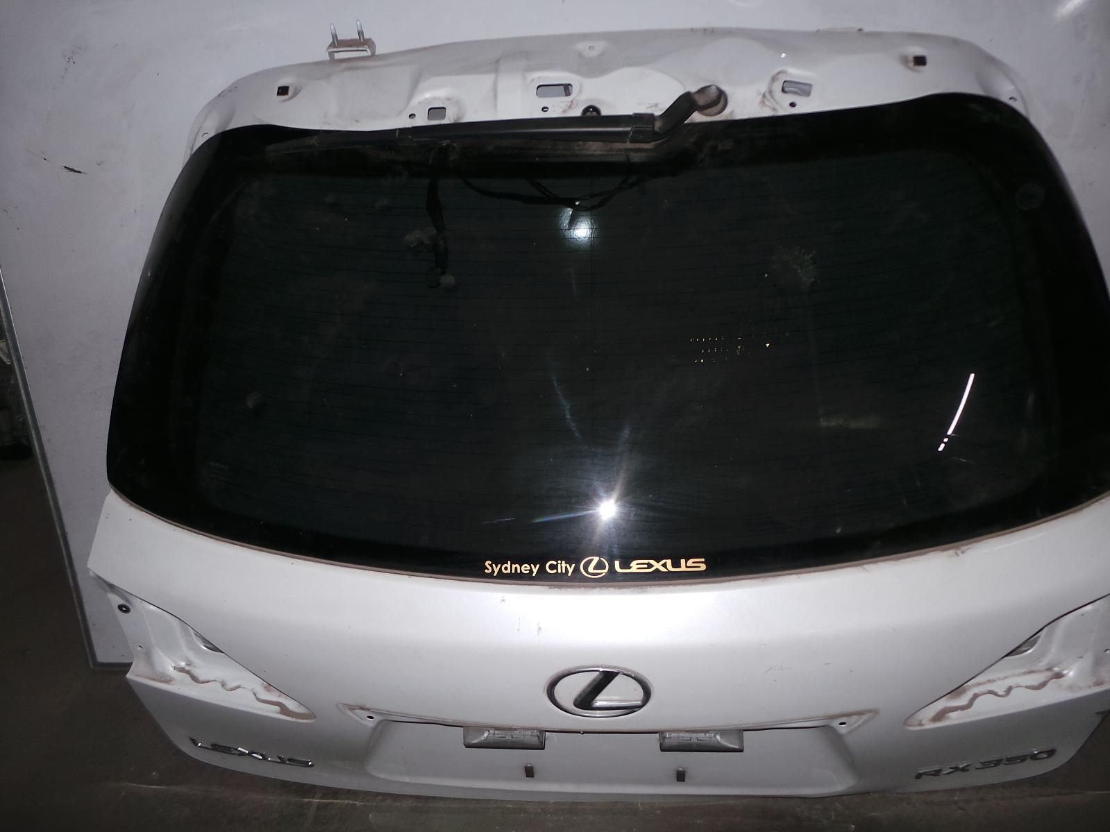 LEXUS RX SERIES, Bootlid/Tailgate, TAILGATE, GSU3/MHU3#, W/ POWER LIFTGATE, REV CAM & NAV SYSTEM TYPE, 03/06-02/09