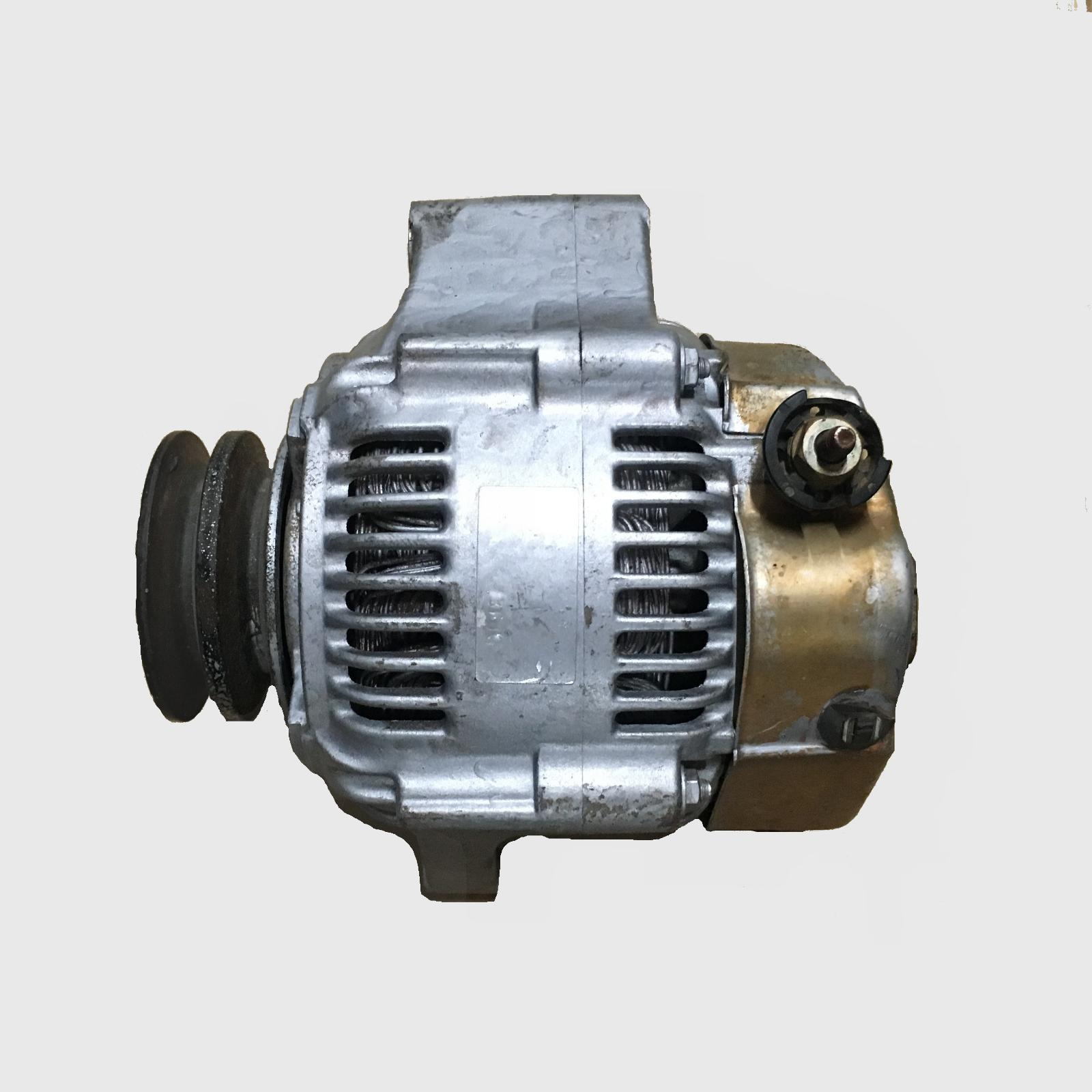 TOYOTA LANDCRUISER, Alternator, 78/80/100 SERIES, DIESEL, 4.2, 1HZ, OVAL PLUG, 05/90-10/07