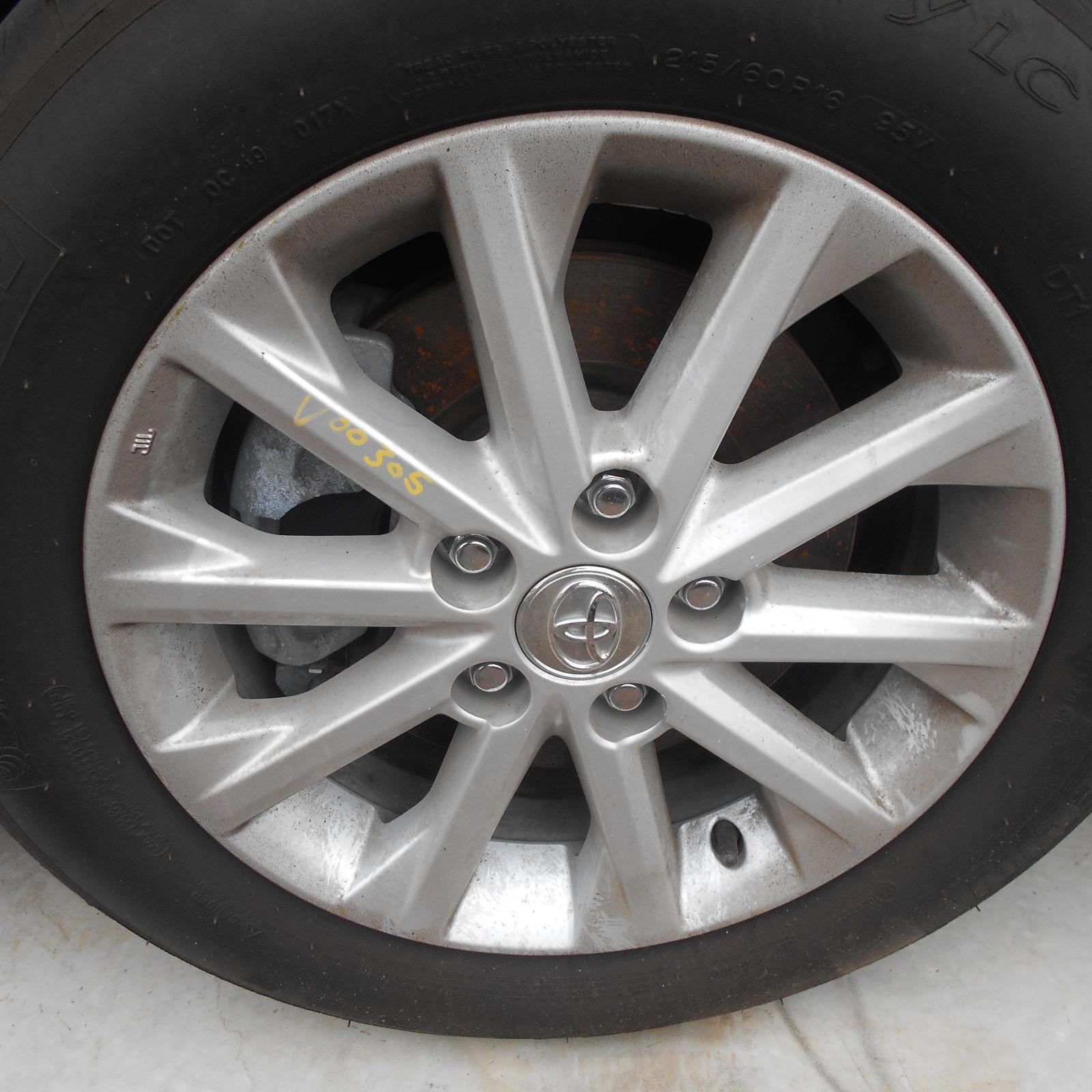TOYOTA AURION, Wheel Mag, FACTORY, 16X6.5IN, 10 NARROW SPOKES, GSV50R, AT-X, 04/12-08/17
