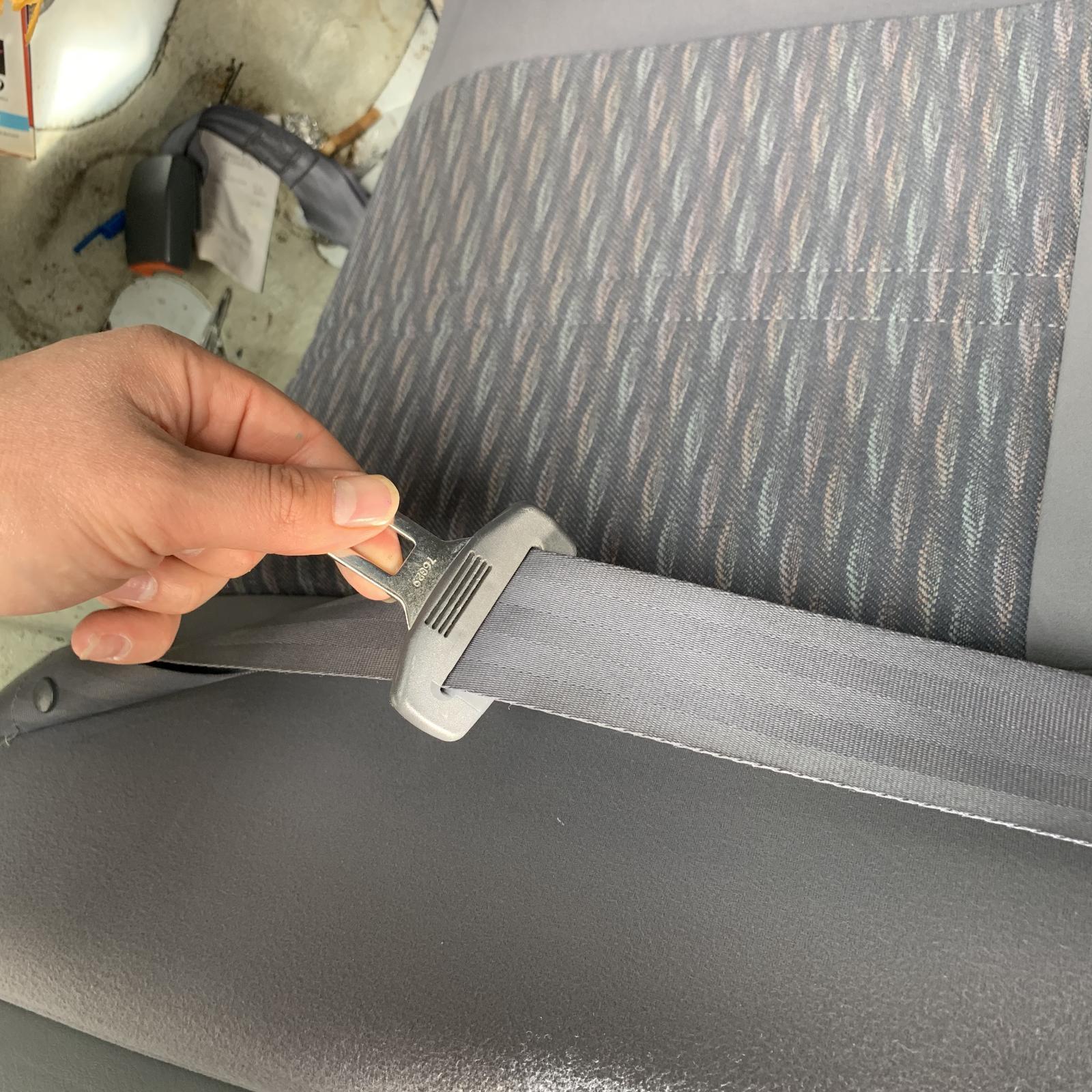 TOYOTA CAMRY, Seatbelt/Stalk, LH REAR, SEAT BELT ONLY, SK20, SEDAN, 08/97-08/02