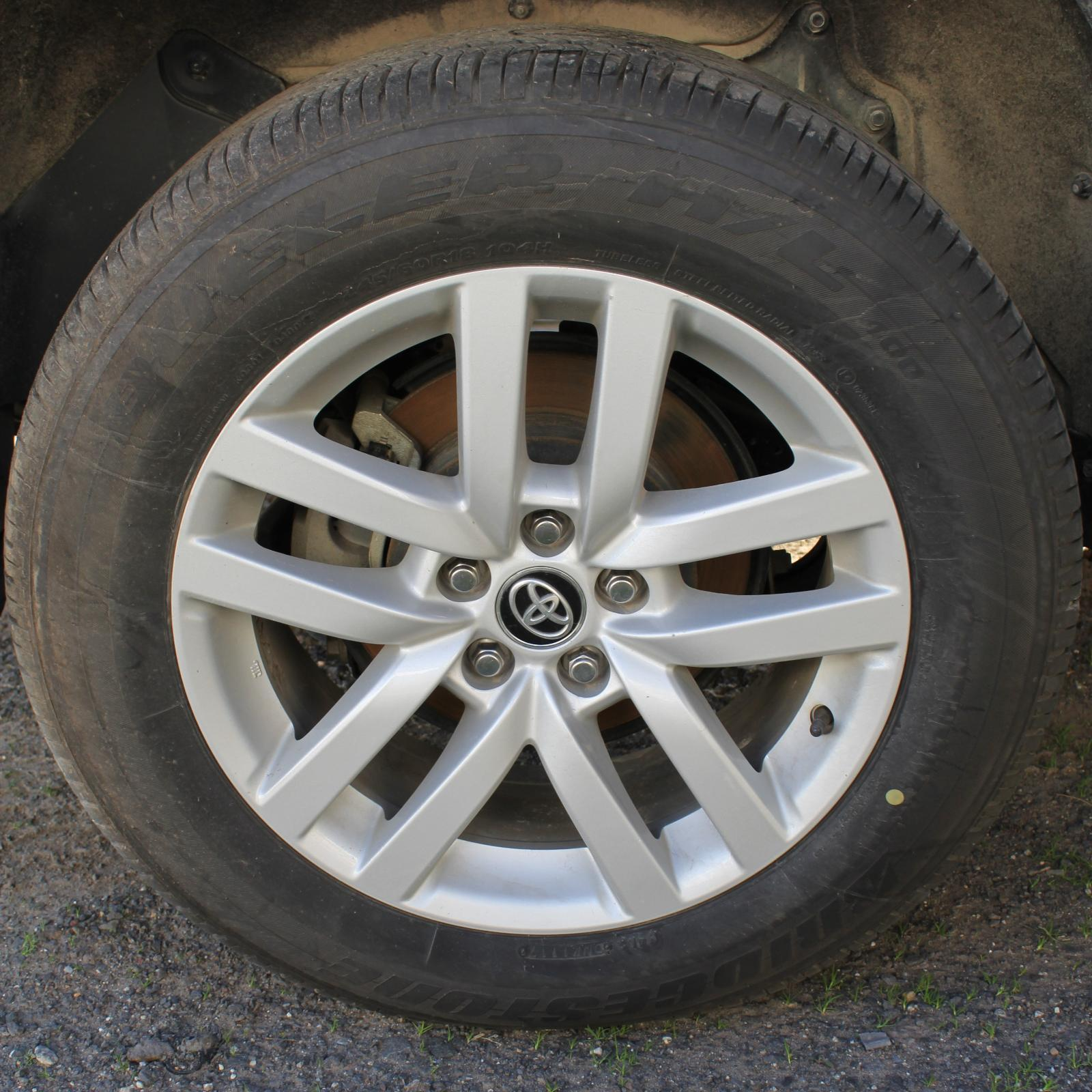 TOYOTA KLUGER, Wheel Mag, FACTORY, 18X7.5IN, GXL, GSU50/GSU55, 03/14-10/16