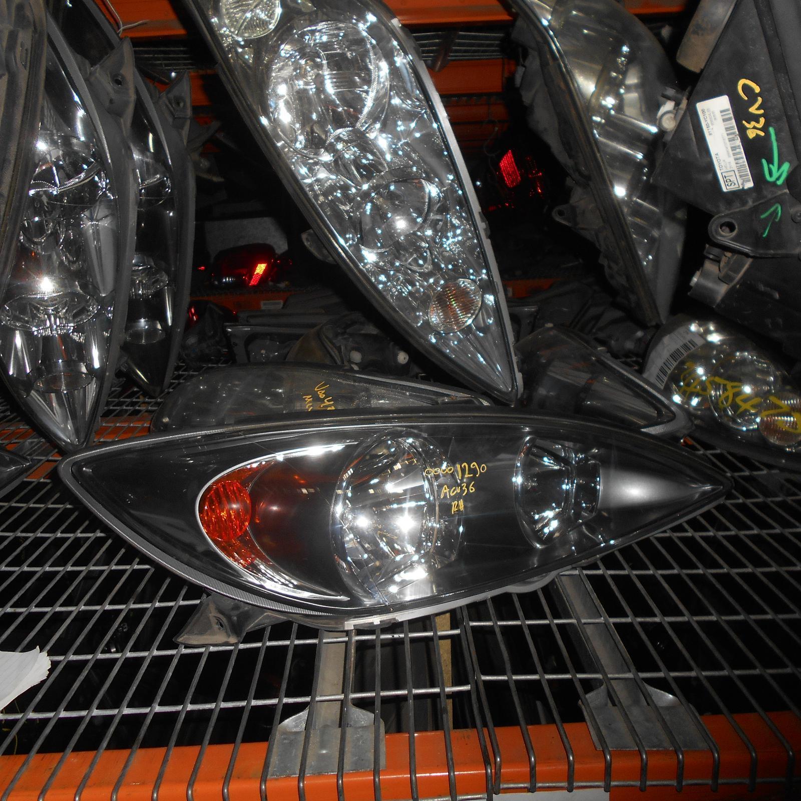 TOYOTA CAMRY, Right Headlamp, SK36, SPORTIVO, BLACK INSERT TYPE, 08/02-09/04