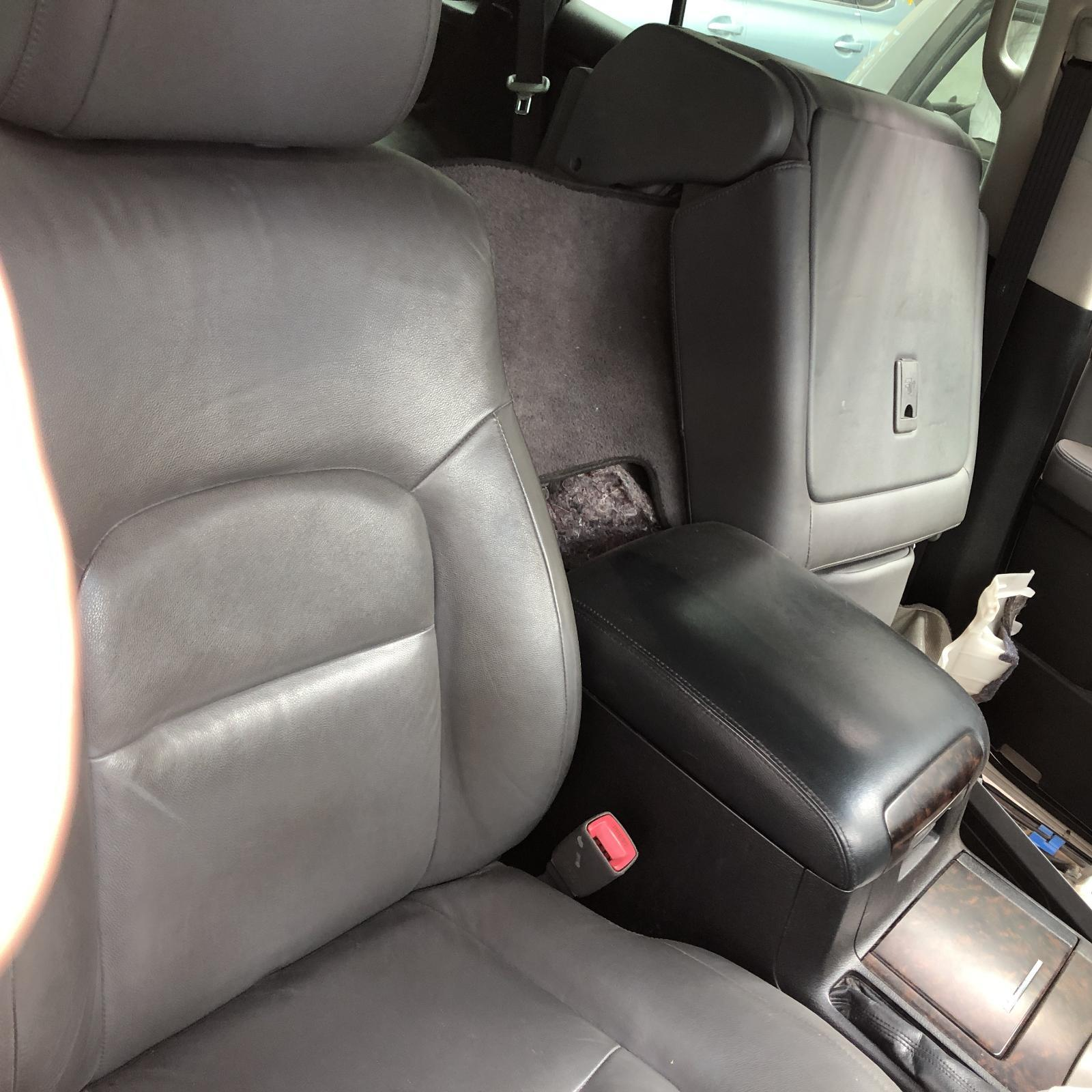 TOYOTA LANDCRUISER, Front Seat, 200 SERIES, RH FRONT, LEATHER, GREY, 11/07-