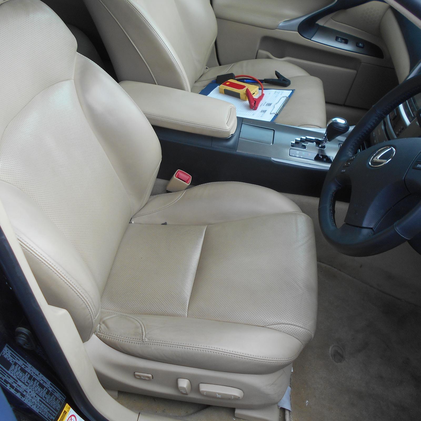LEXUS IS250/IS250C, Front Seat, RH FRONT, GSE20R, IS250/IS350, LEATHER, BEIGE, PRESTIGE/X, 11/05-06/13