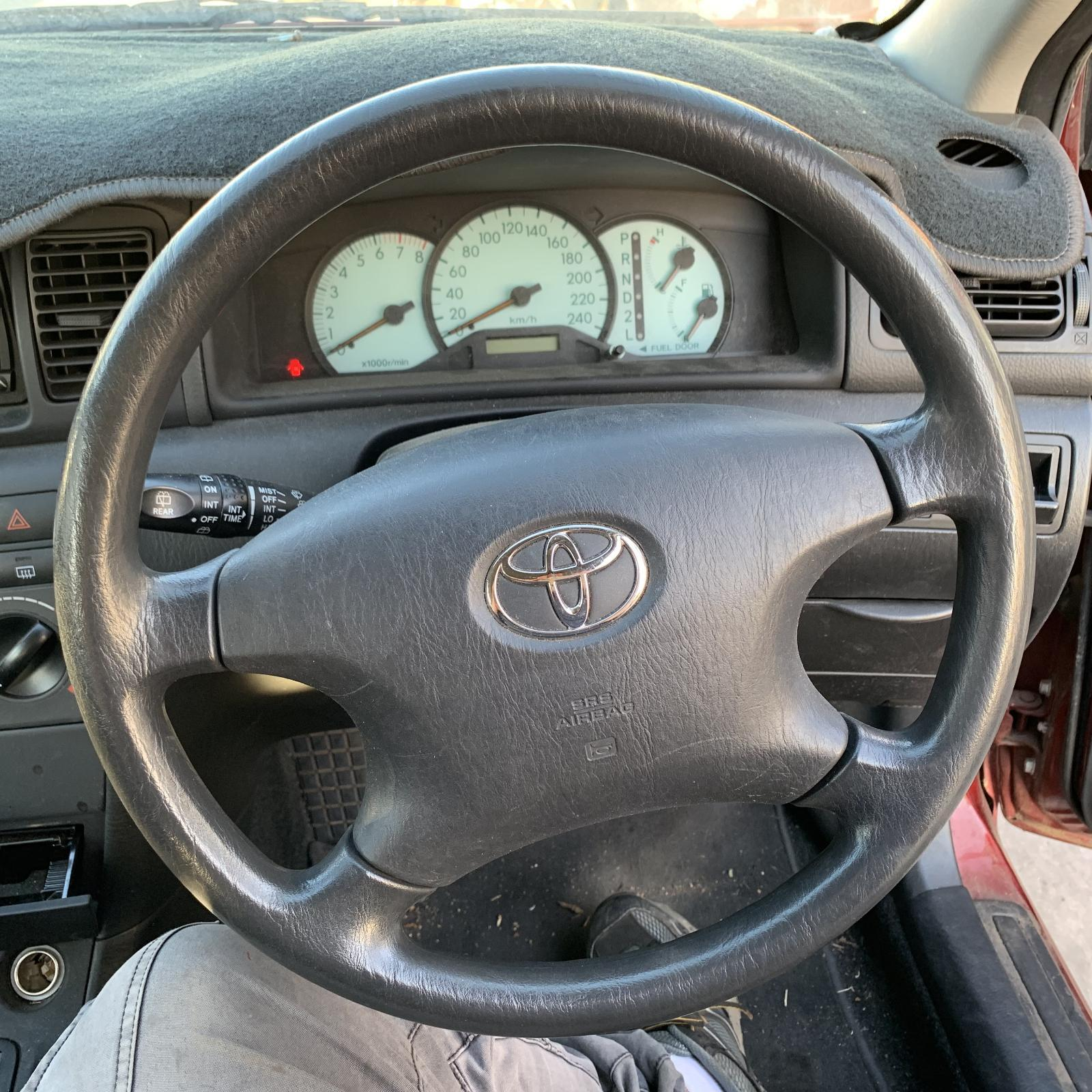 TOYOTA COROLLA, Steering Wheel, ZZE122, 4 SPOKE TYPE, 12/01-06/07