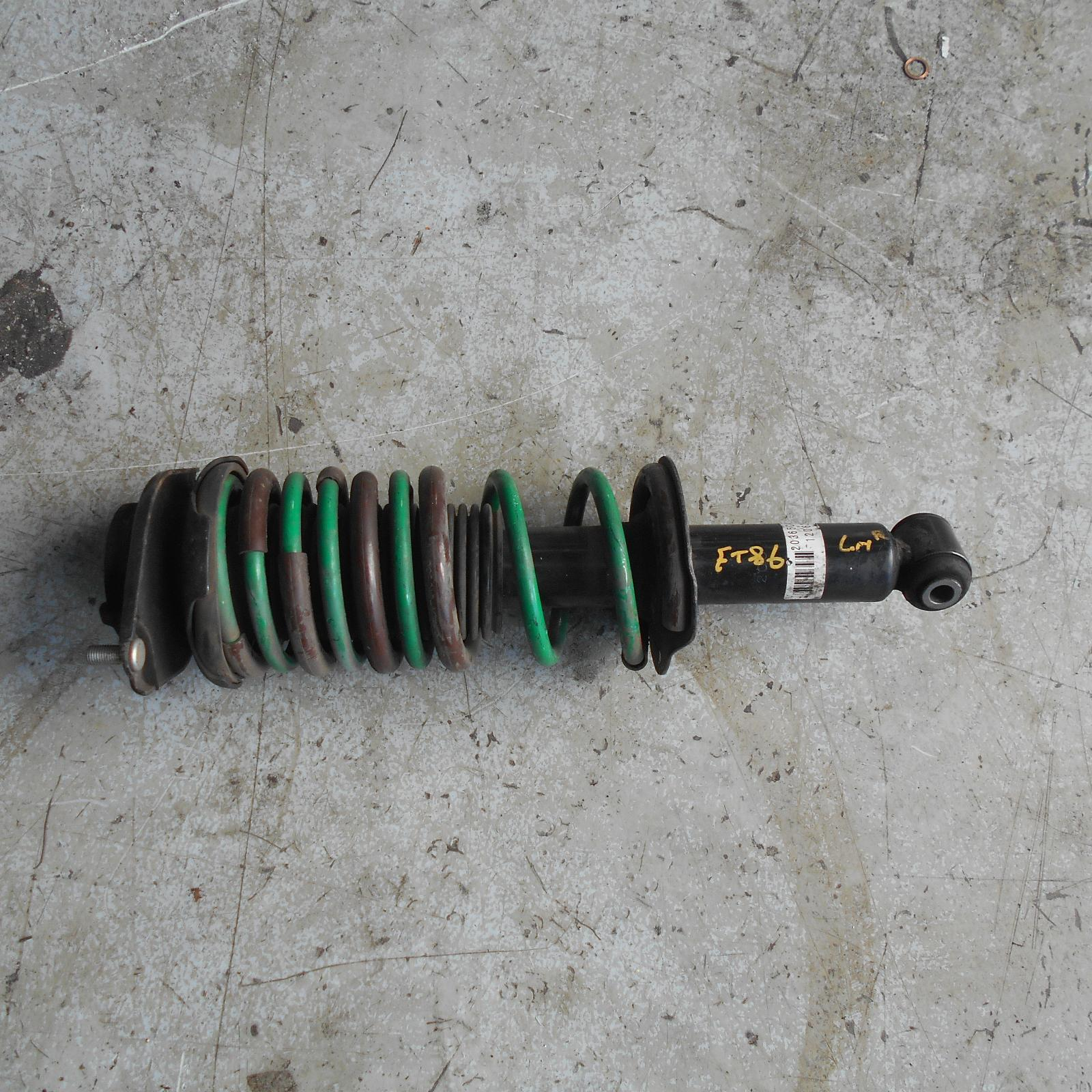 TOYOTA 86, Left Rear Strut, ZN6, GTS, 06/12-