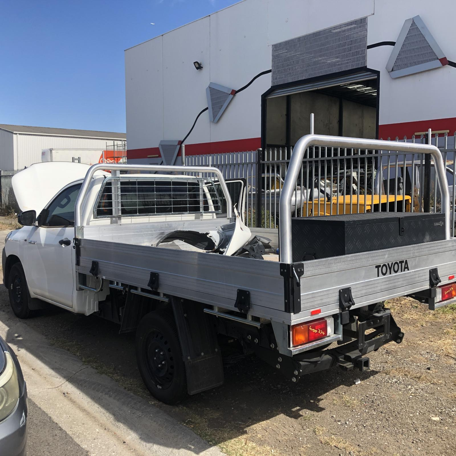 WHITE HILUX SINGLE CAB 2TR-FE AUTOMATIC 2WD TRANSMISSION FROM - 09/15-CURRENT: 12999