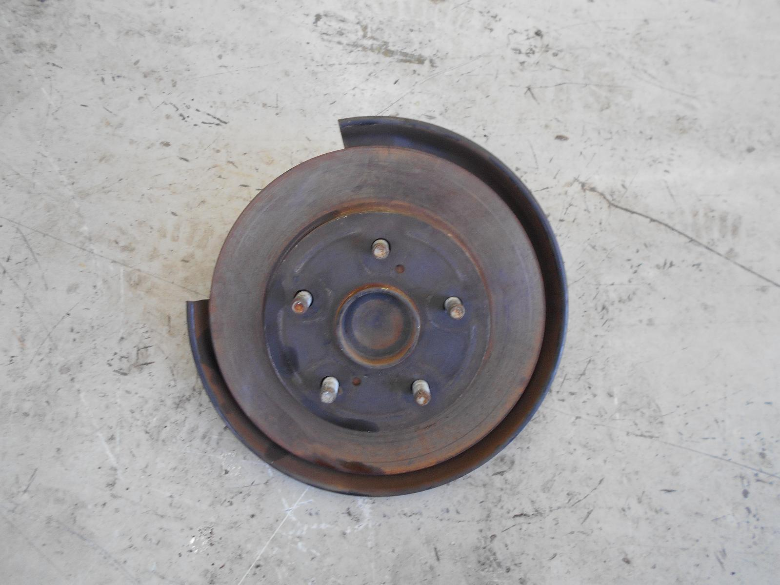 TOYOTA COROLLA, Right Rear Hub Assembly, ZRE152/153R, ABS TYPE, 03/07-10/13