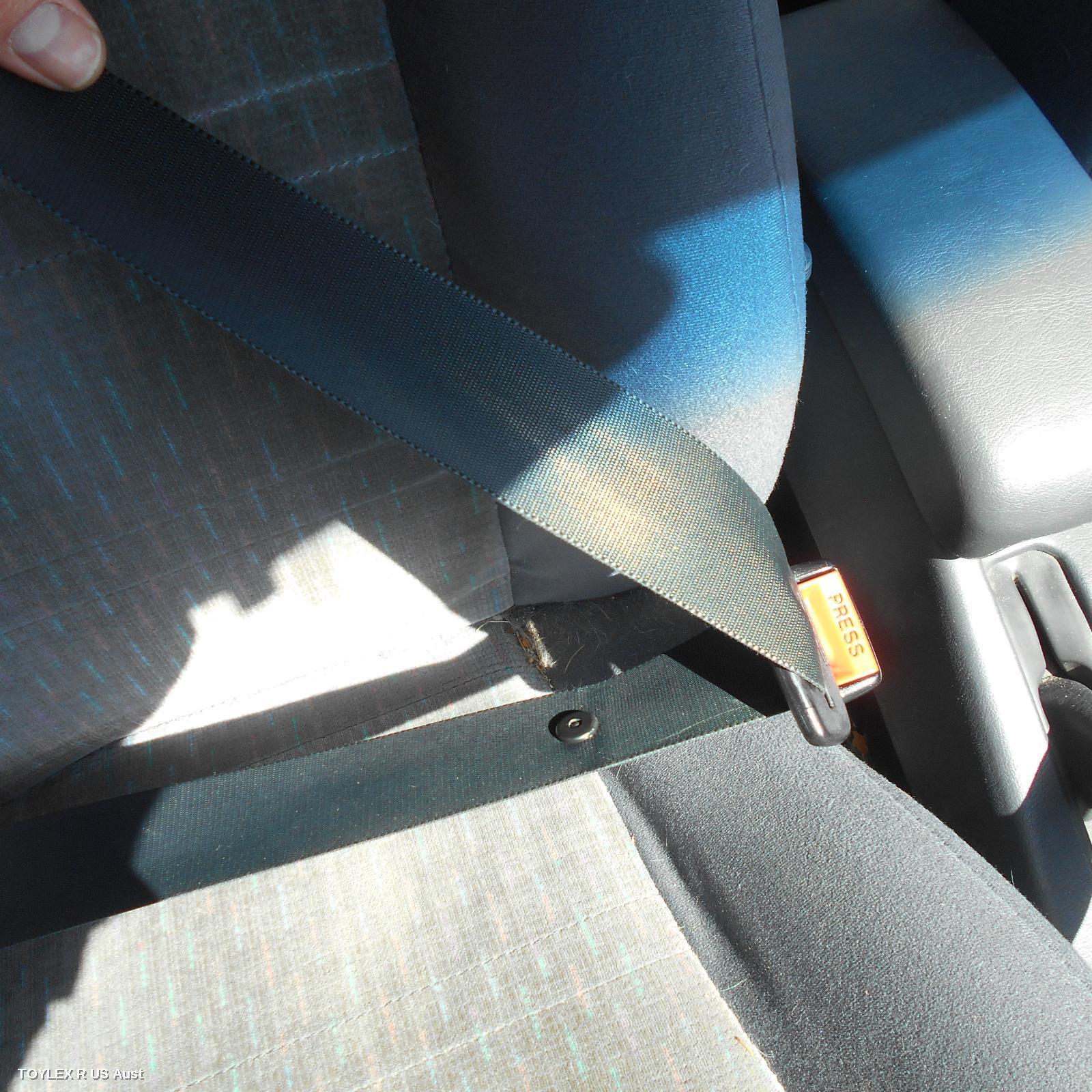 TOYOTA COROLLA, Seatbelt/Stalk, RH FRONT, SEAT BELT ONLY, HATCH, AE101, 05/92-10/99