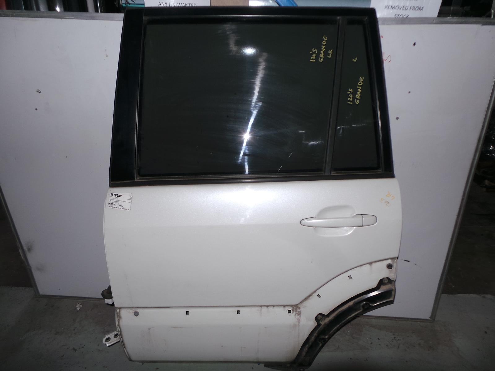 TOYOTA PRADO, Left Rear Door/Sliding, 120 SERIES, FLARED TYPE, 02/03-10/09