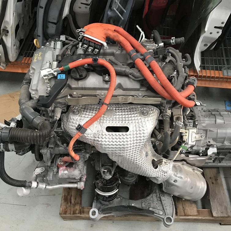 LEXUS IS, Engine, IS300h, PETROL, 2.5, 2AR-FSE, XE30, 04/13-