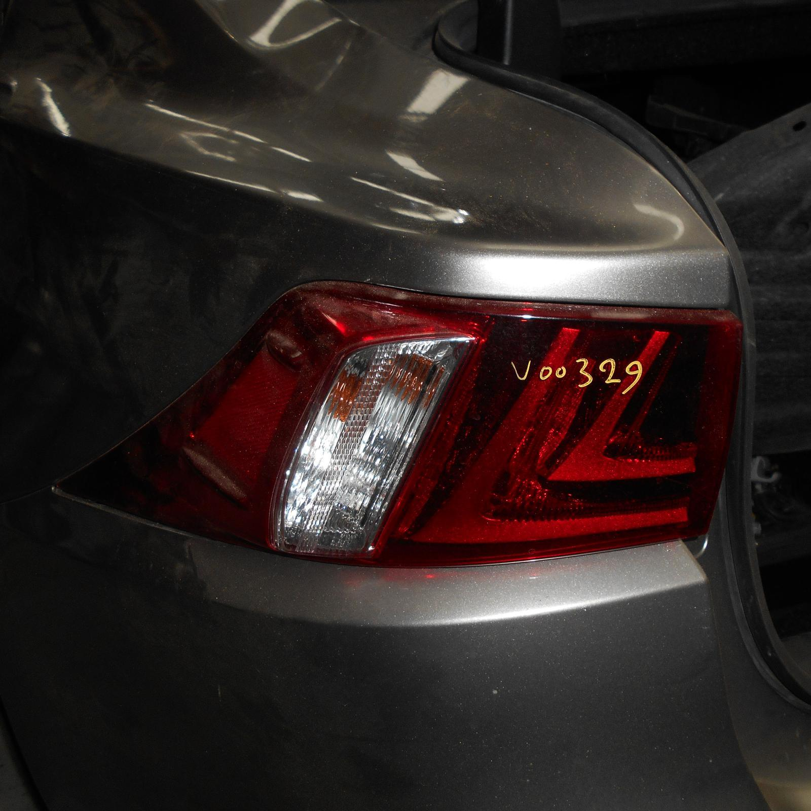 LEXUS IS, Left Taillight, IS200t/IS250/IS300H/IS350, XE30, 07/13-
