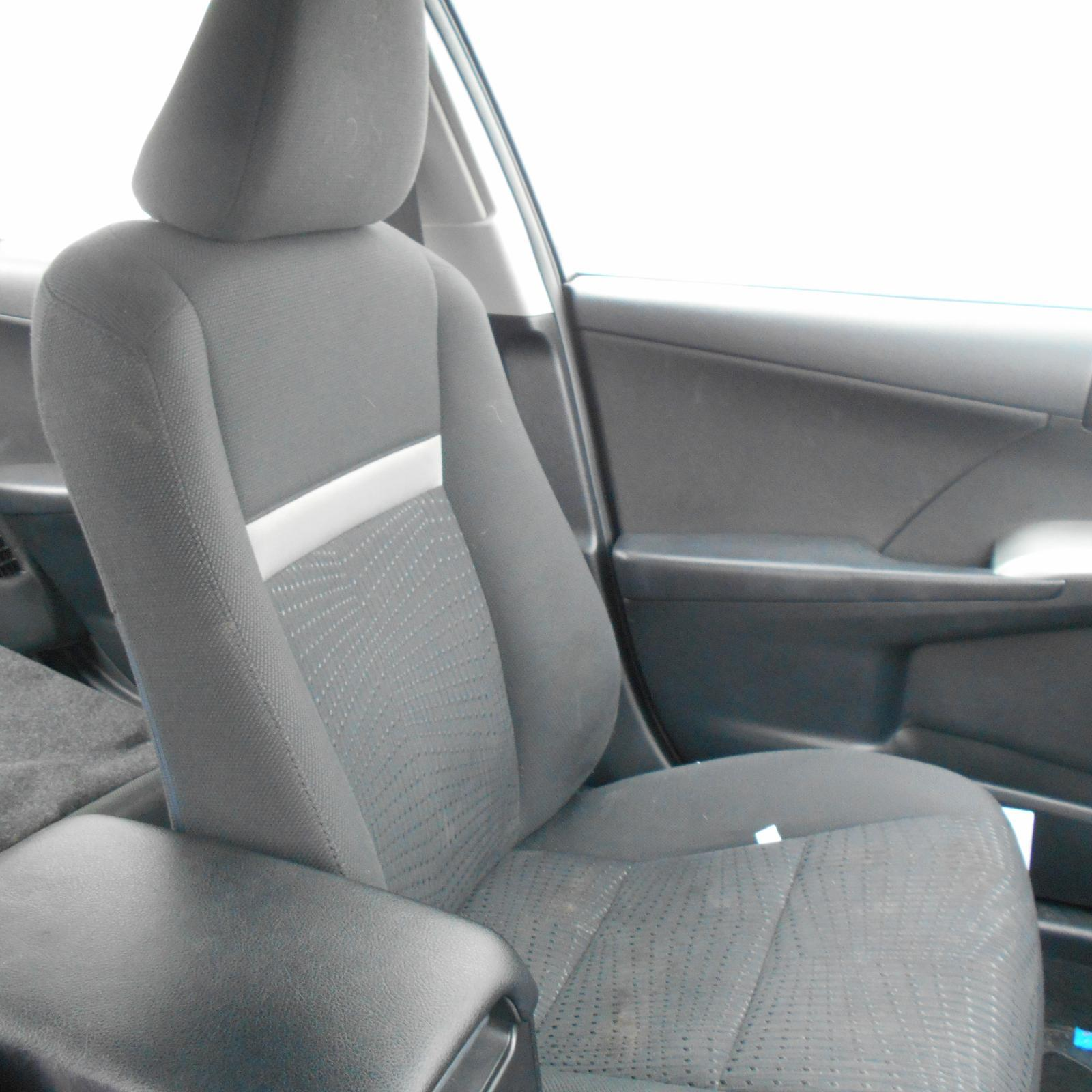 TOYOTA CAMRY, Front Seat, LH FRONT, CLOTH, HYBRID, ACV50, 12/11-05/15