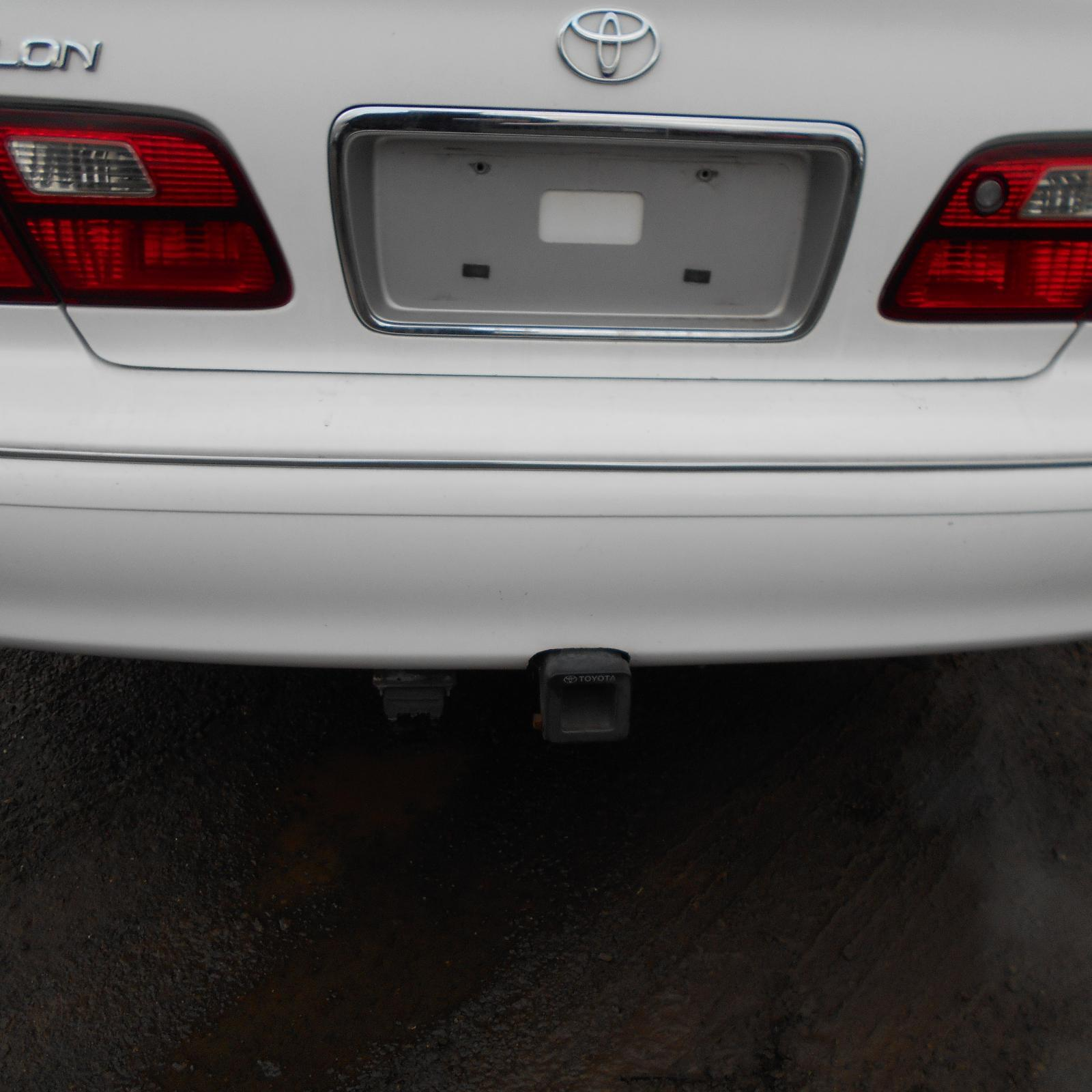TOYOTA AVALON, Rear Bumper, MCX10R, 07/00-09/03