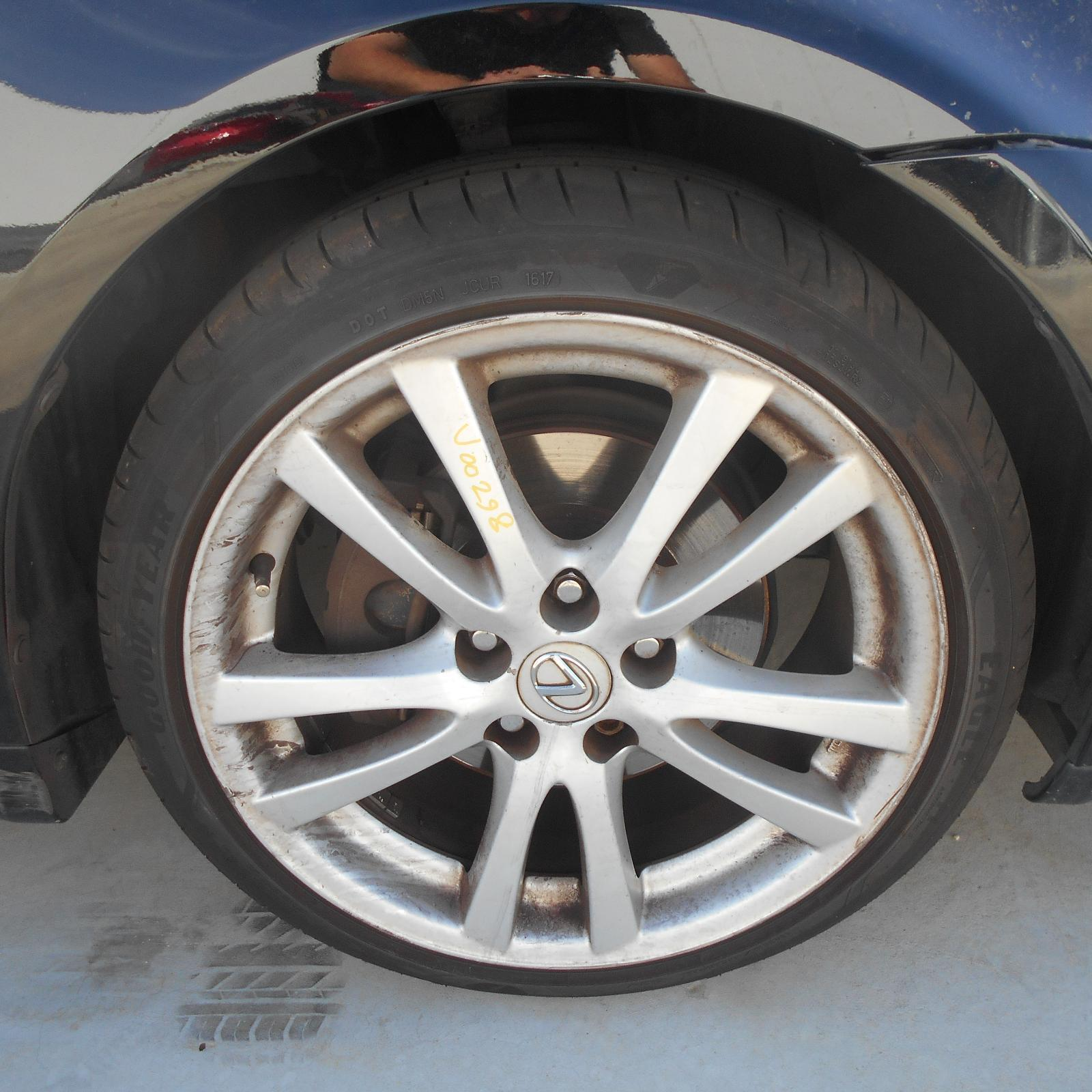 LEXUS IS250/IS250C, Wheel Mag, IS250, FACTORY, REAR, 18X8.5IN, TWIN SPOKE, GSE20R, 11/05-09/08