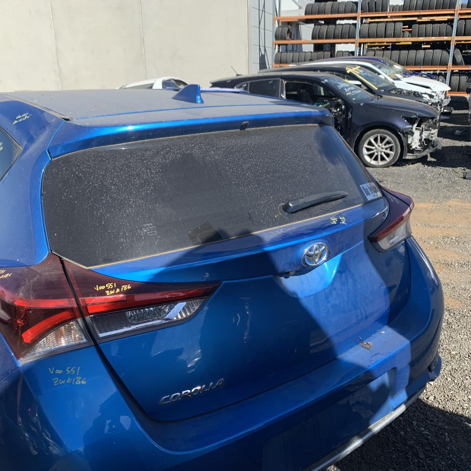 TOYOTA COROLLA, Bootlid/Tailgate, TAILGATE, ZRE182R/ZWE186R, 03/15-