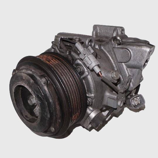 TOYOTA KLUGER, A/C Compressor, GSU40-GSU45, 3.5, 2GR-FE, 7SBH17C, W/ REAR A/C TYPE, 08/07-02/14