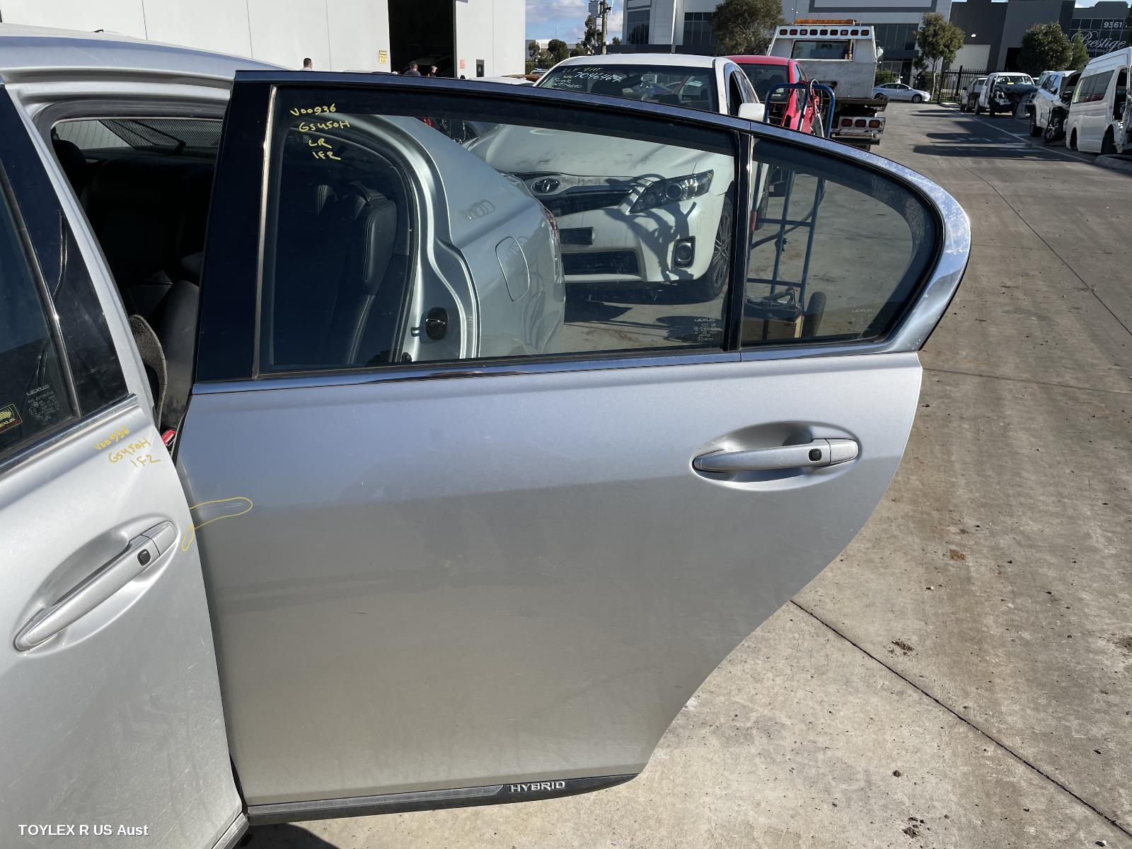 LEXUS GS, Left Rear Door/Sliding, 190 SERIES, 03/05-12/11