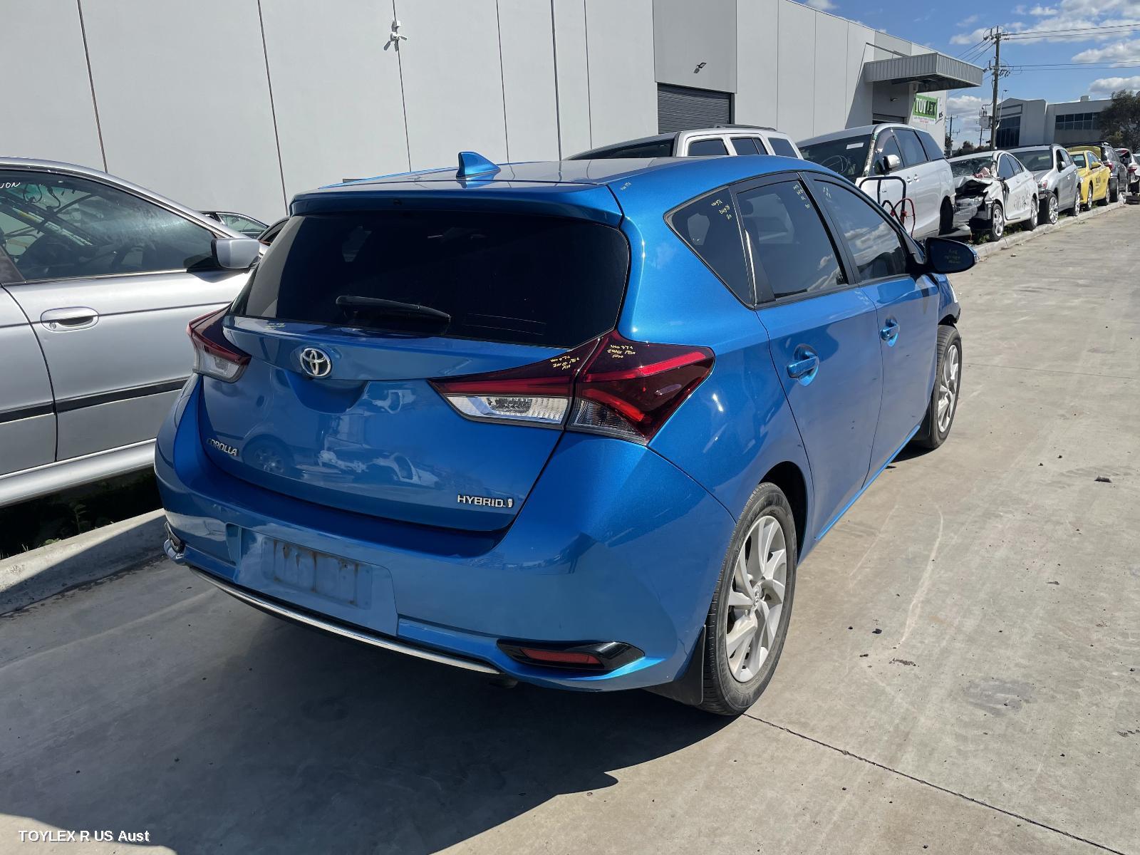 Toyota COROLLA ZWE186R Hybrid 2ZR-FXE 1.8L Engine Automatic FWD Transmission 03/15 - 06/18