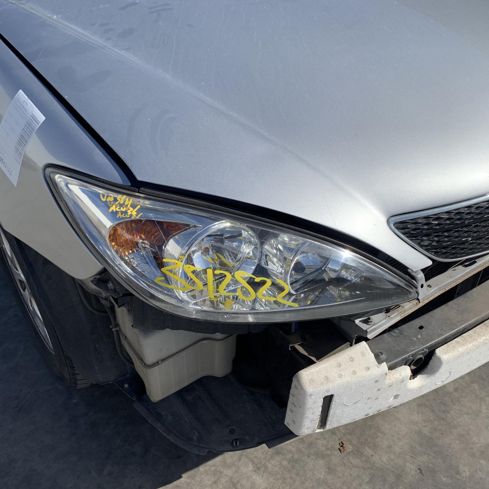 TOYOTA CAMRY, Right Headlamp, SK36, ALTISE/ATEVA/AZURA, CHROME INSERT TYPE, 08/02-09/04