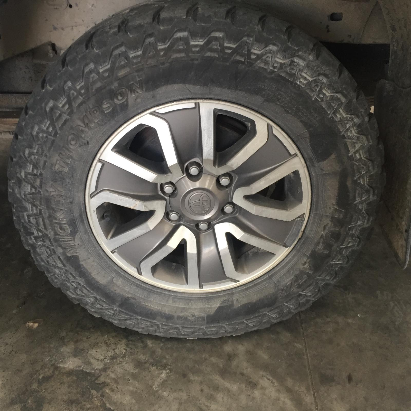 TOYOTA HILUX, Wheel Mag, FACTORY, 17X7.5IN, 4WD, TRD, 04/08-05/09
