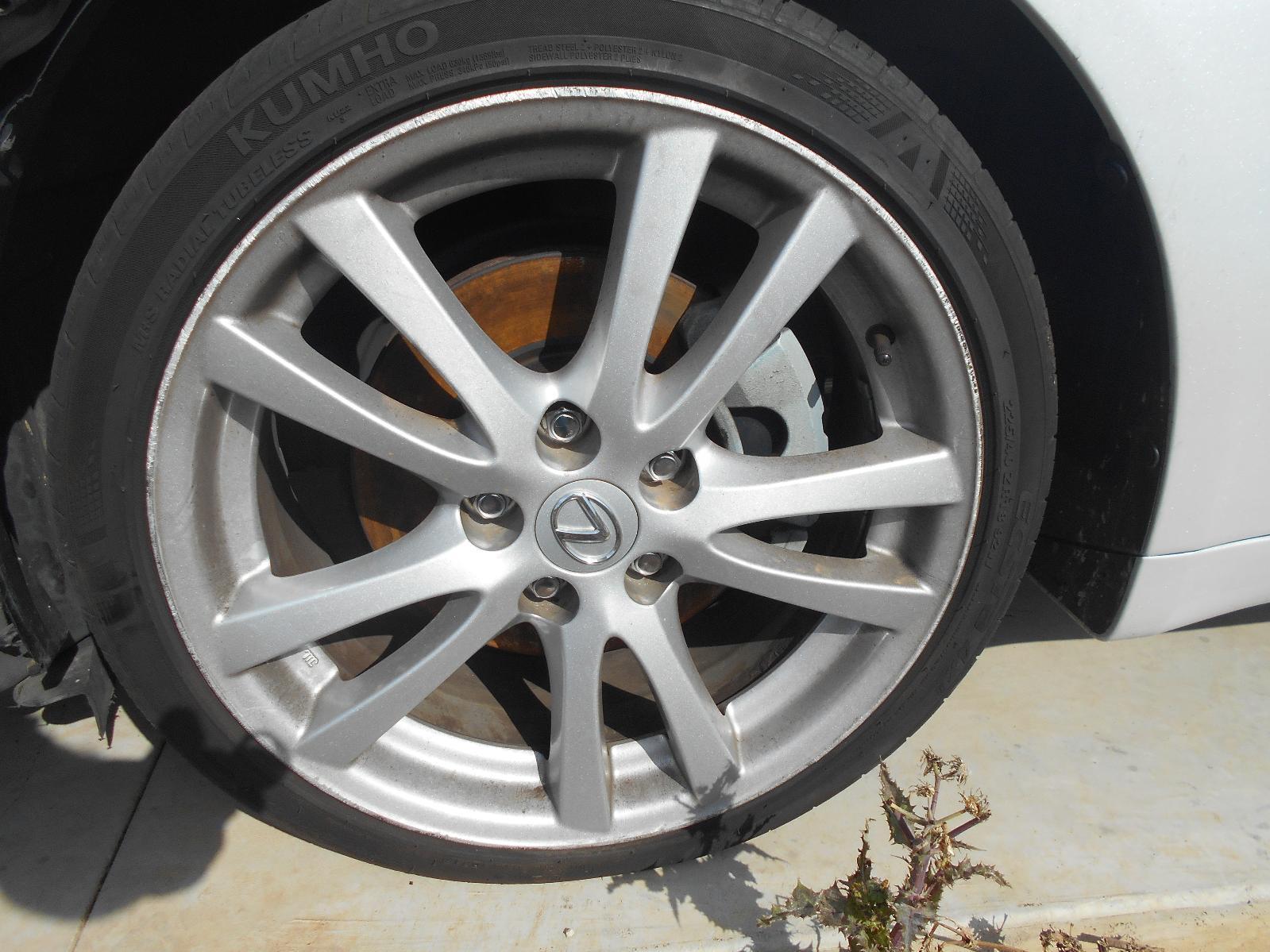 LEXUS IS250/IS250C, Wheel Mag, IS250, FACTORY, FRONT, 18X8IN, TWIN SPOKE, GSE20R, 11/05-09/08