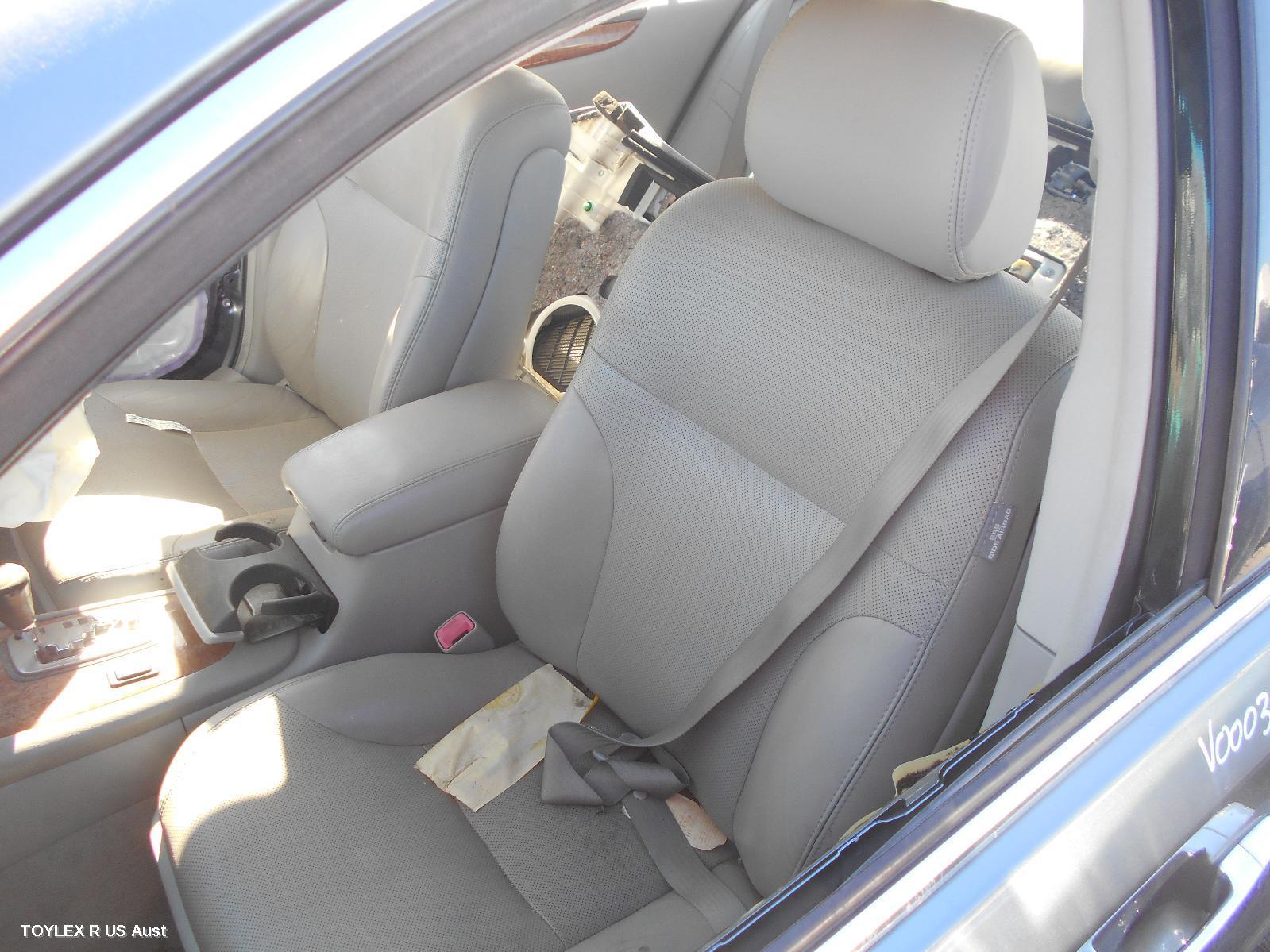 LEXUS ES300, Front Seat, LH FRONT, LEATHER, GREY, MCV30, 10/01-12/05
