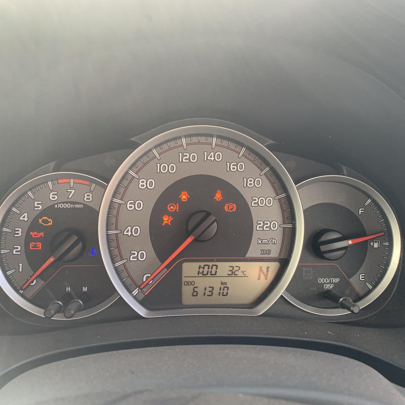 TOYOTA YARIS, Instrument Cluster, AUTO T/M, NCP13#, 07/14-
