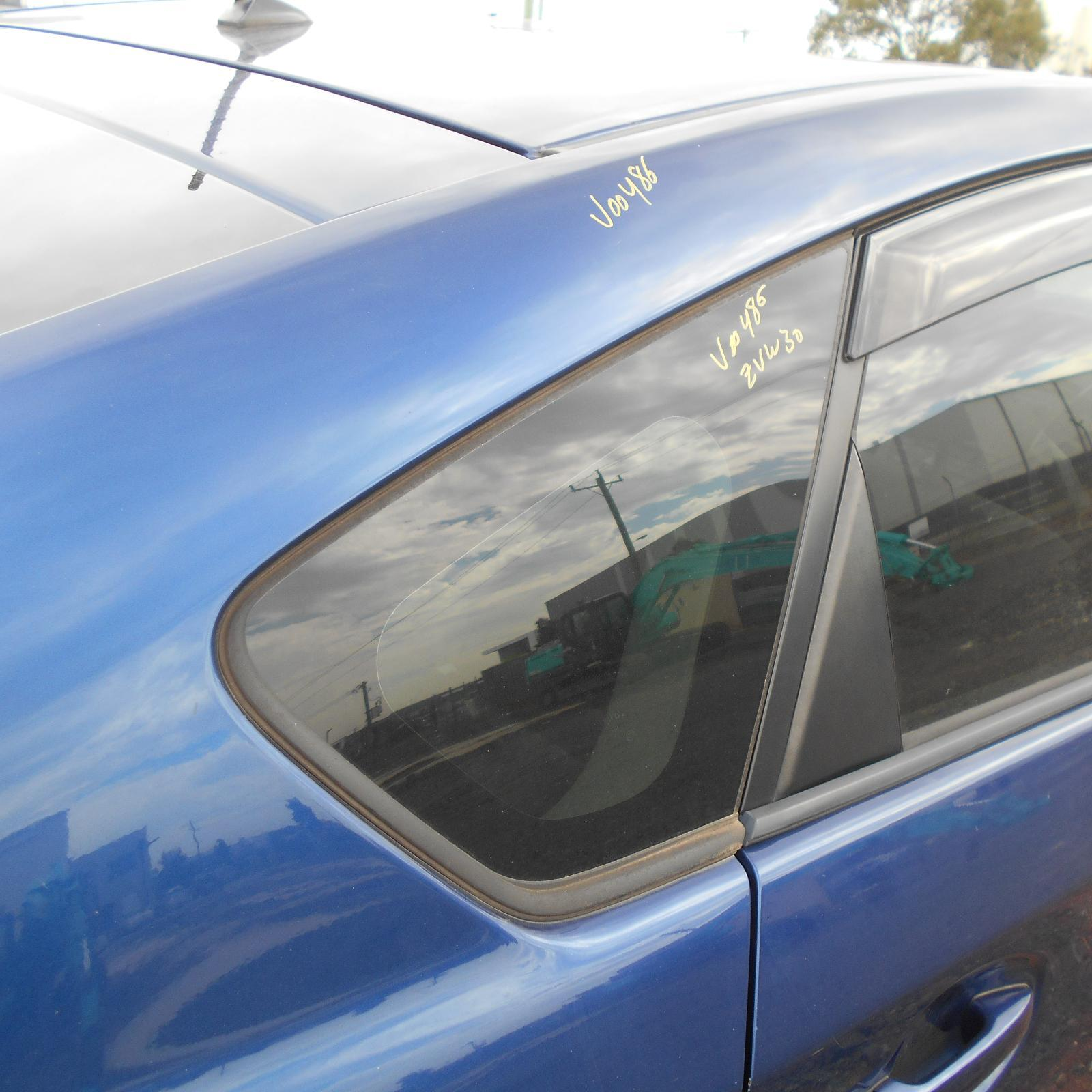 TOYOTA PRIUS, Right Rear Side Glass, ZVW30R, 07/09-12