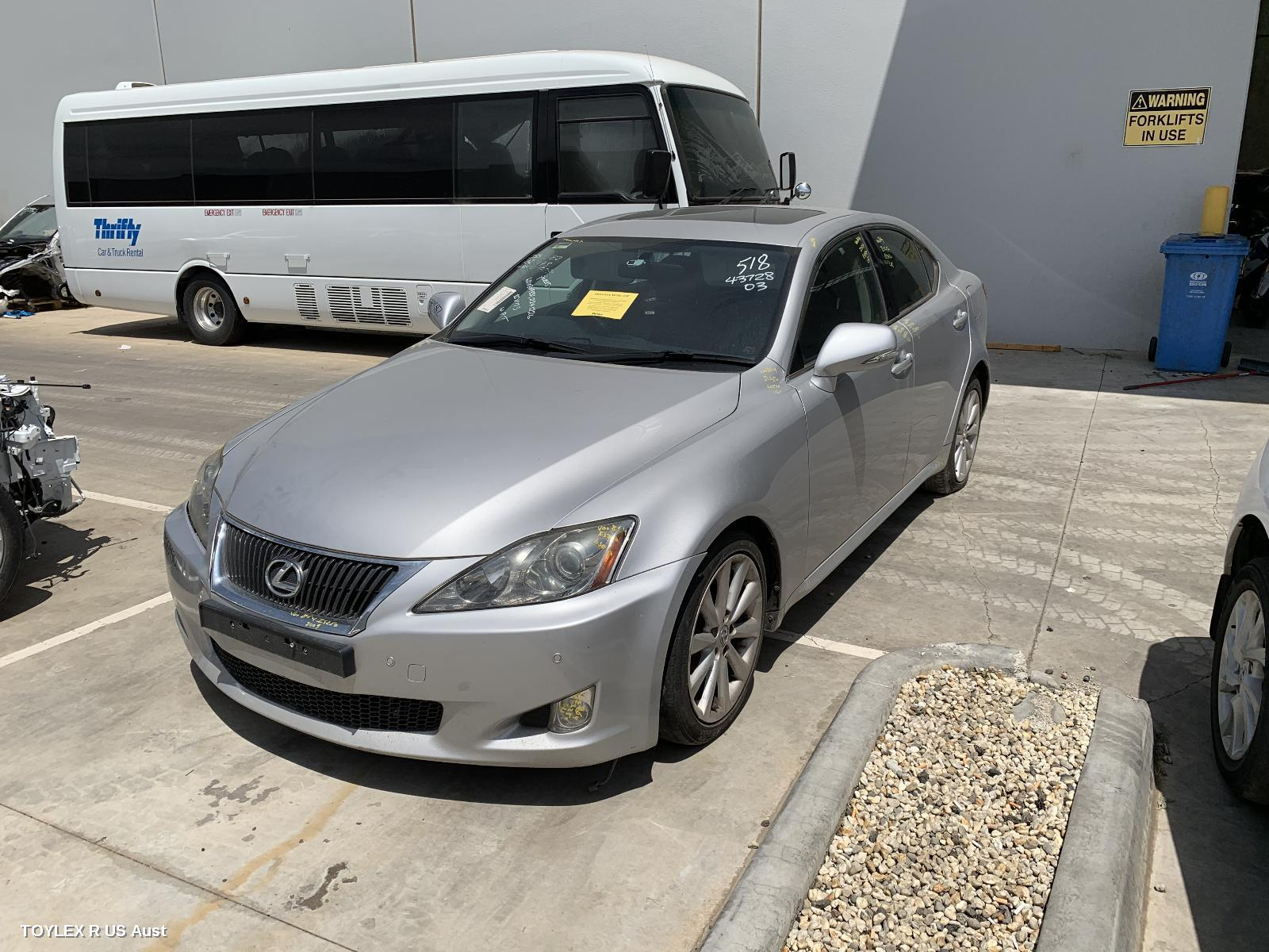 Lexus IS250 GSE20R PRESTIGE 4GR-FSE 2.5L Engine Automatic RWD Transmission 11/05 - 06/13