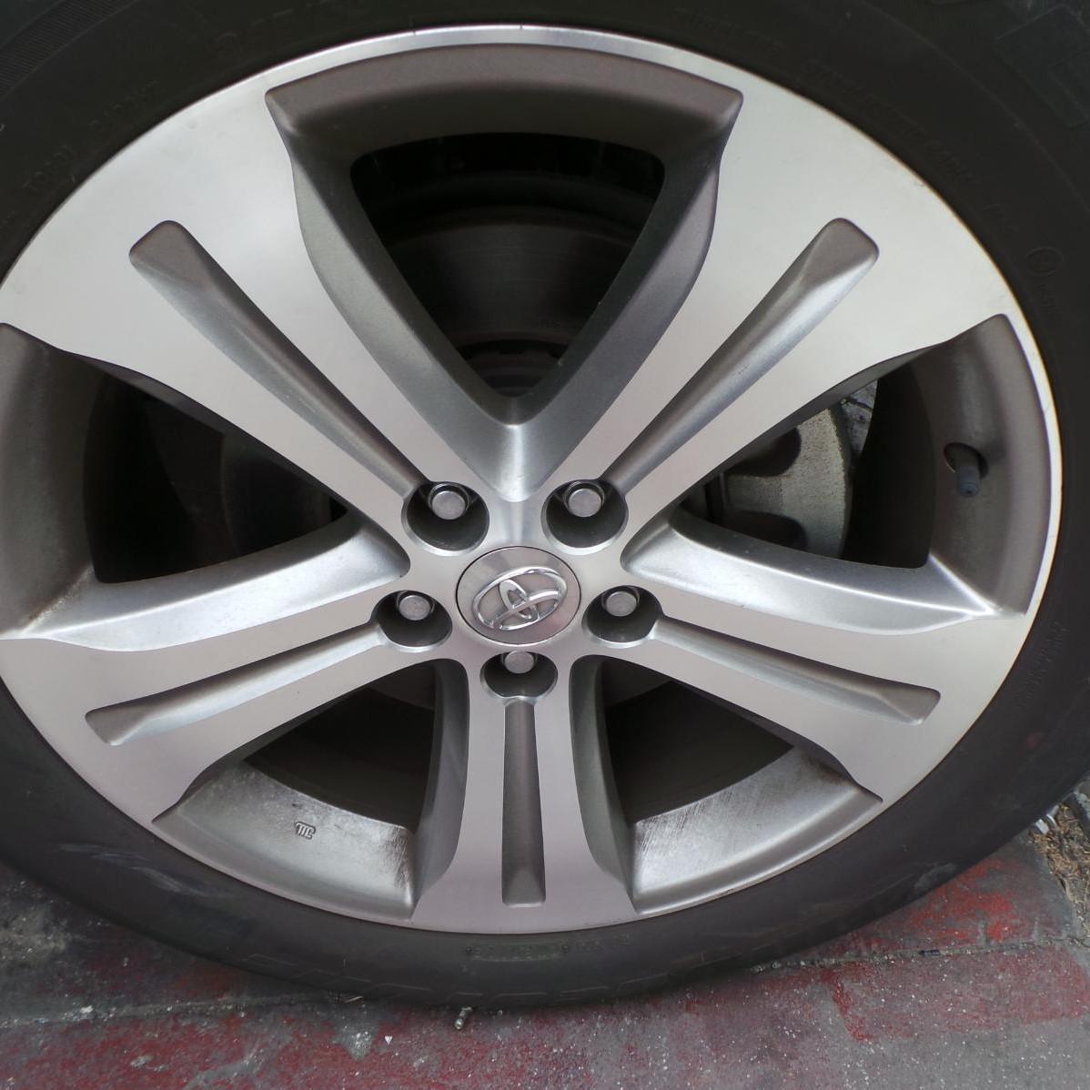 TOYOTA KLUGER, Wheel Mag, FACTORY, 19X7.5IN, 5 SPOKE, GSU40-GSU45, 08/07-02/14