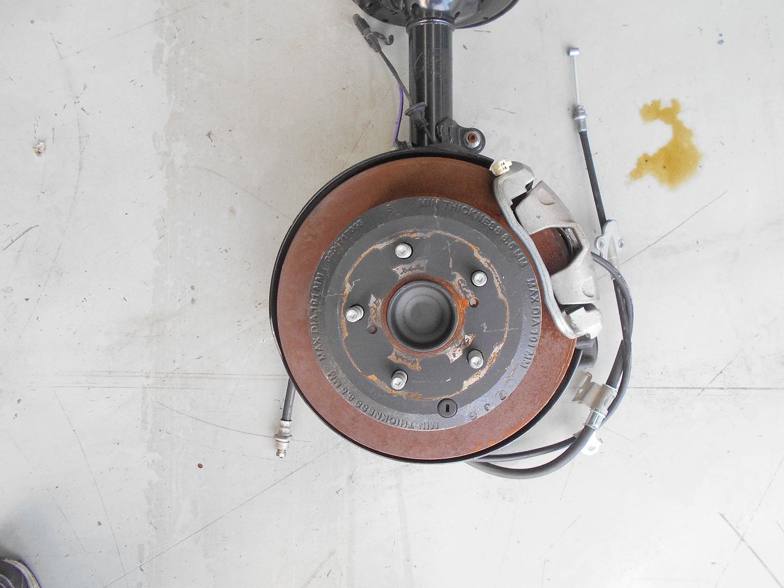 TOYOTA CAMRY, Left Rear Hub Assembly, ACV50, HYBRID TYPE, 12/11-10/17