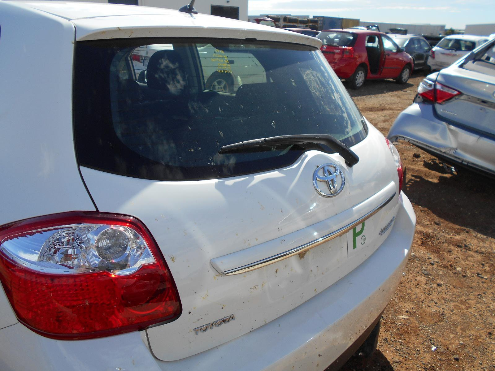 TOYOTA COROLLA, Bootlid/Tailgate, TAILGATE, ZRE152R, HATCH, NON SPOILER TYPE, 10/09-09/12