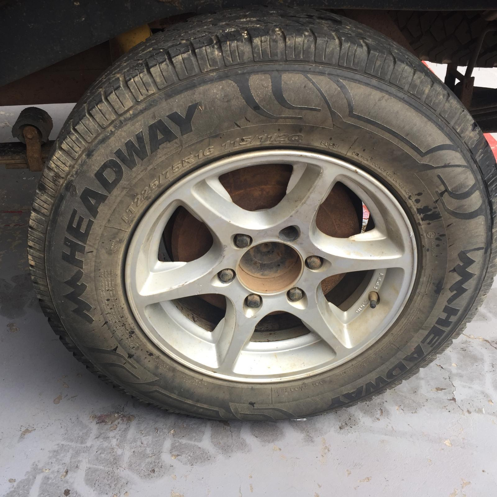 TOYOTA HILUX, Wheel Mag, FACTORY, 09/97-03/05